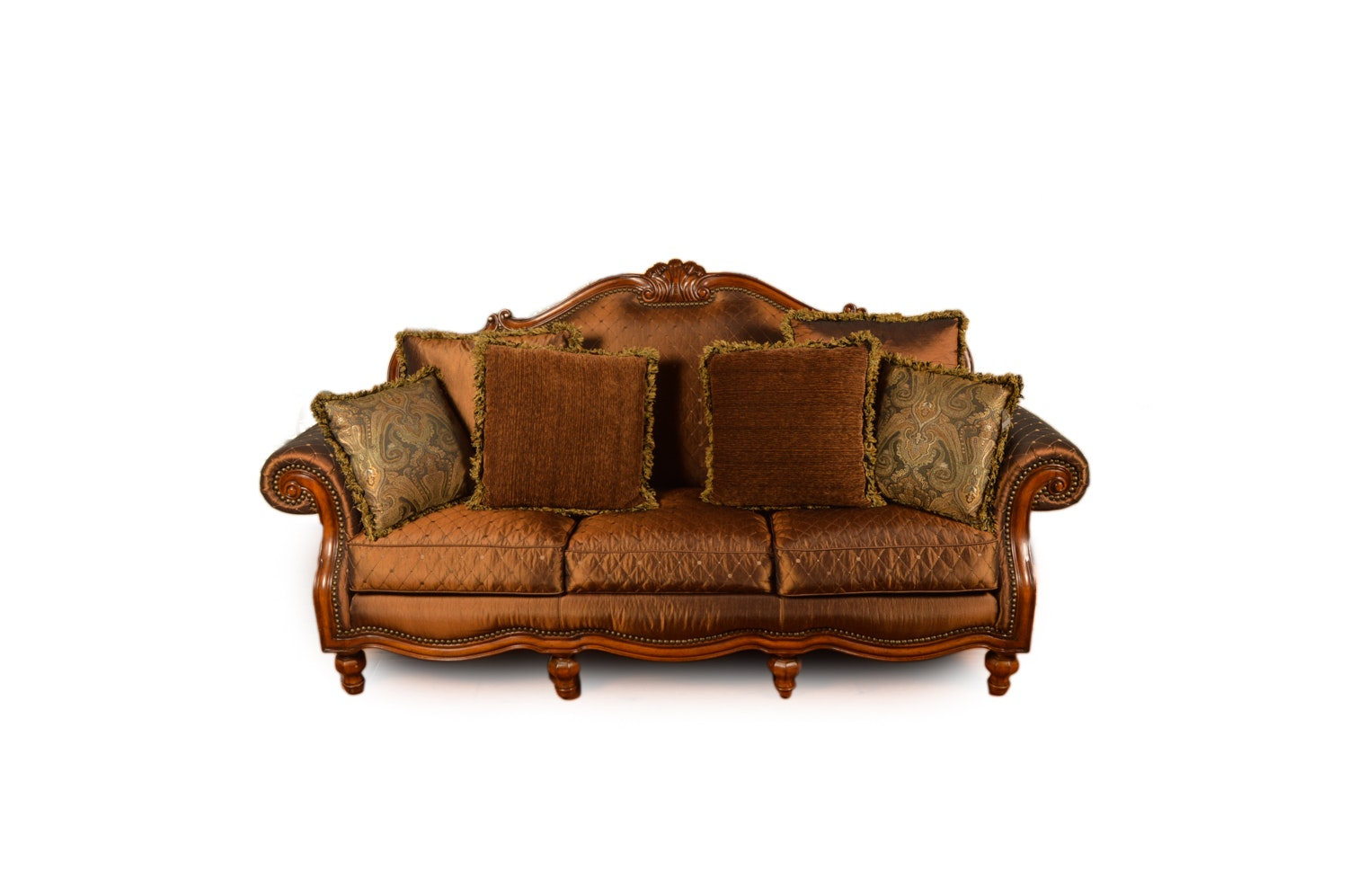 Italian Style Upholstered Sofa by Thomasville