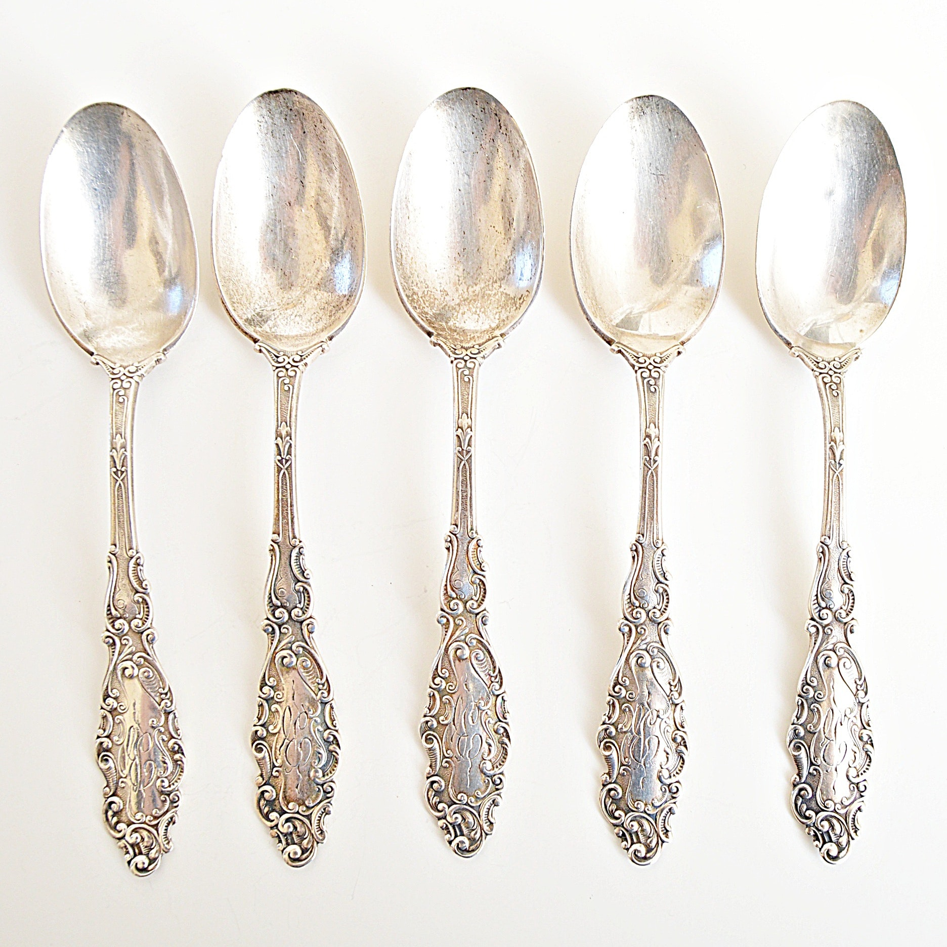 "Gorham ""Luxembourg"" Sterling Silver Spoons"
