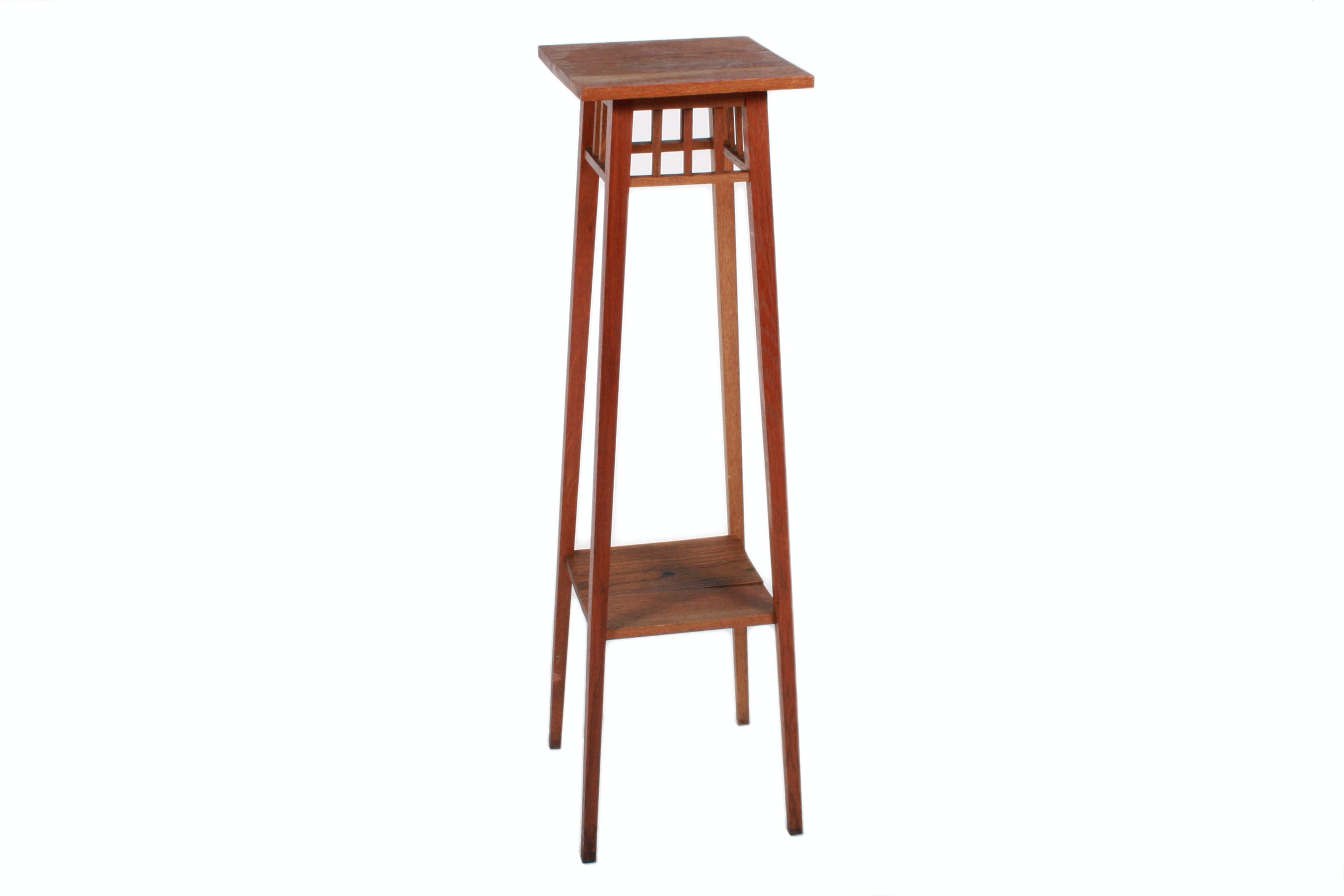 Mission Style Wooden Plant Stand