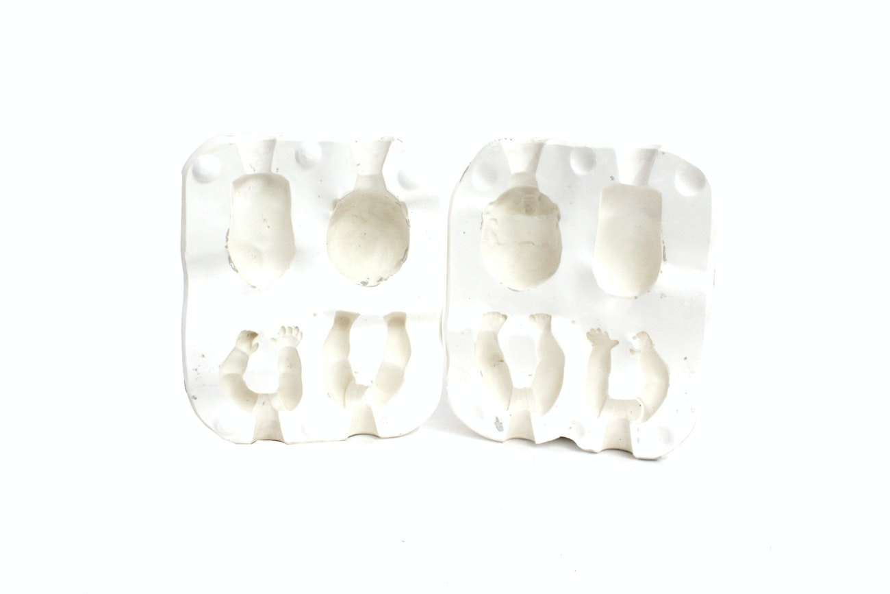 Plaster Babydoll Mold