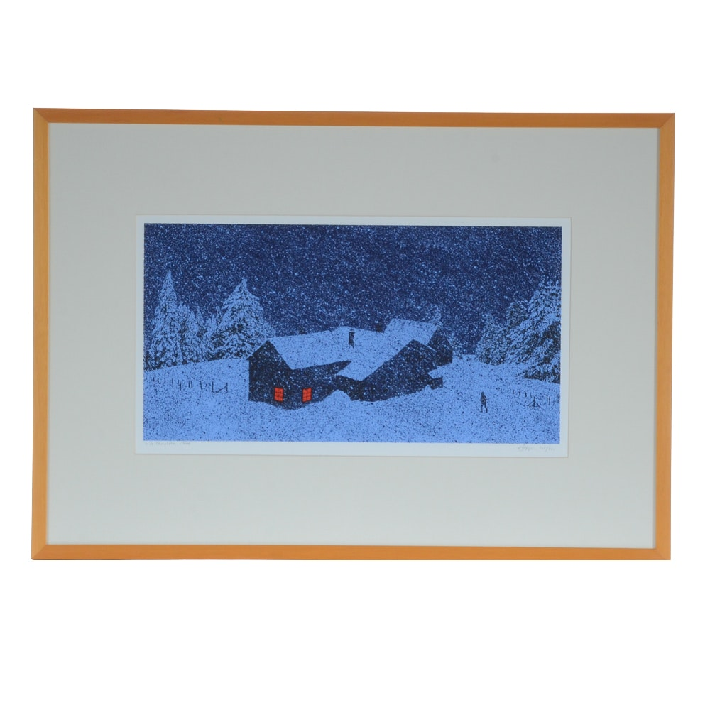 "Dan McCarthy Limited Edition Serigraph ""Hot Chocolate"""
