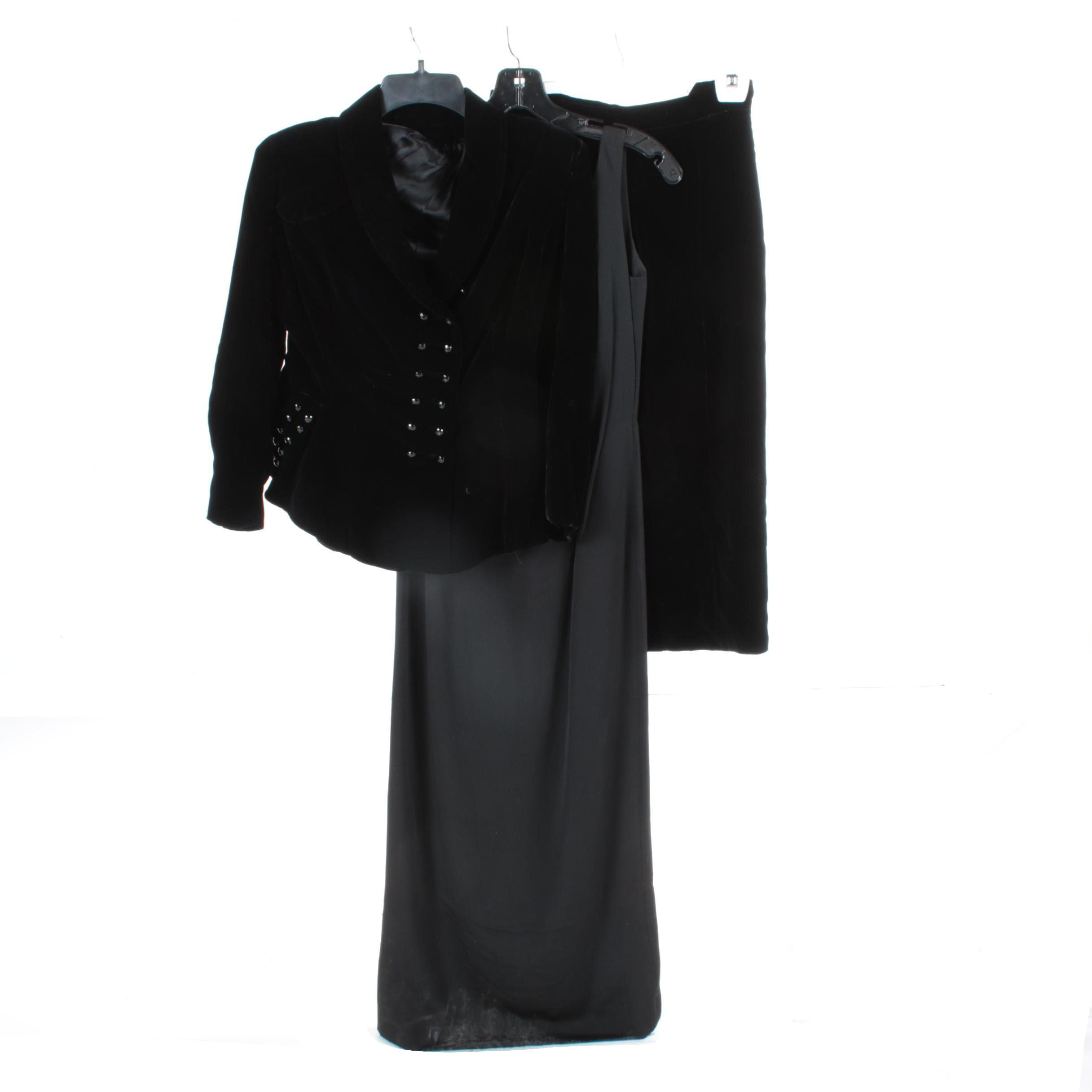 Women's Dress and Skirt Suit