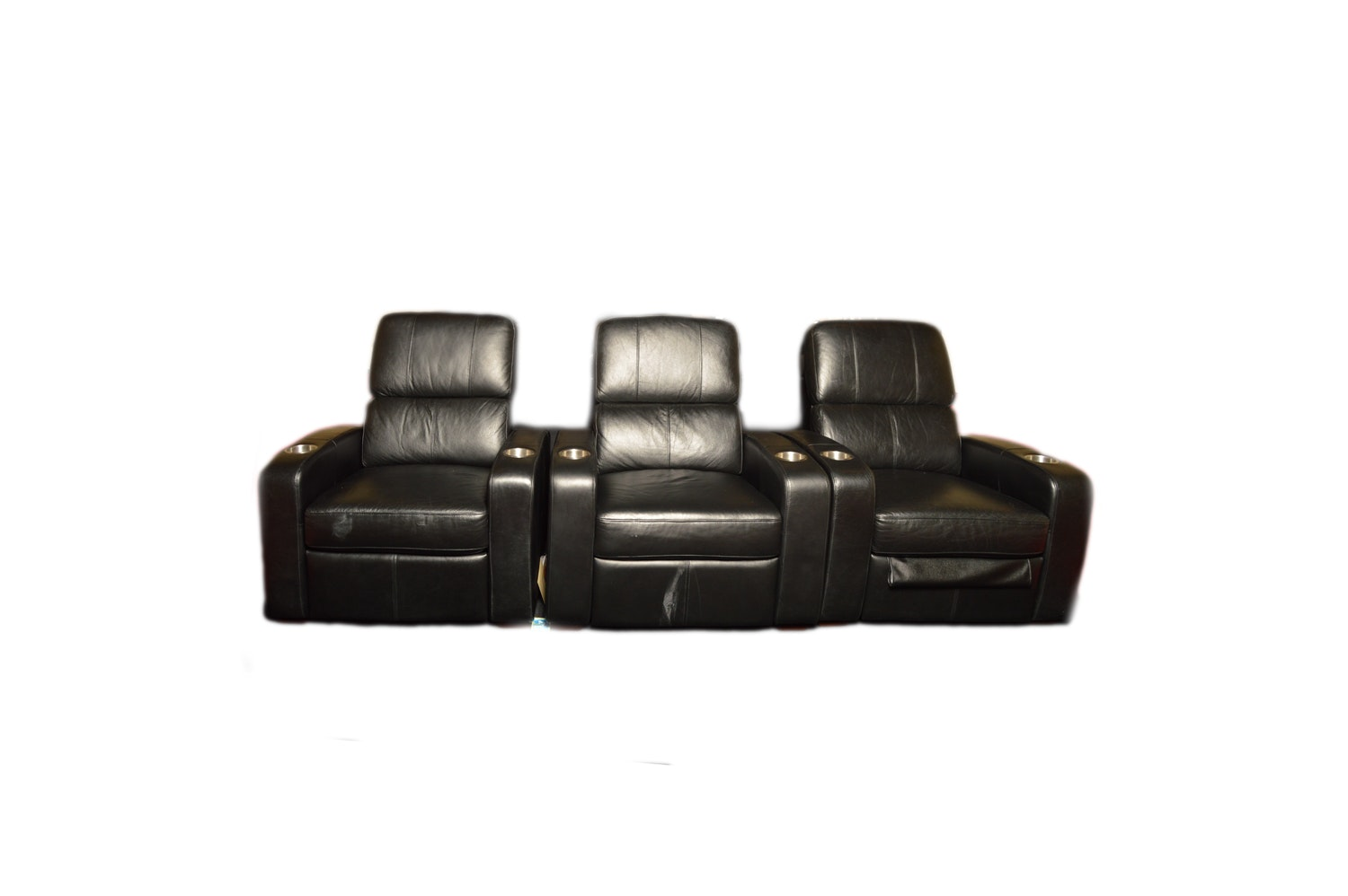 Faux Leather Theater Seats