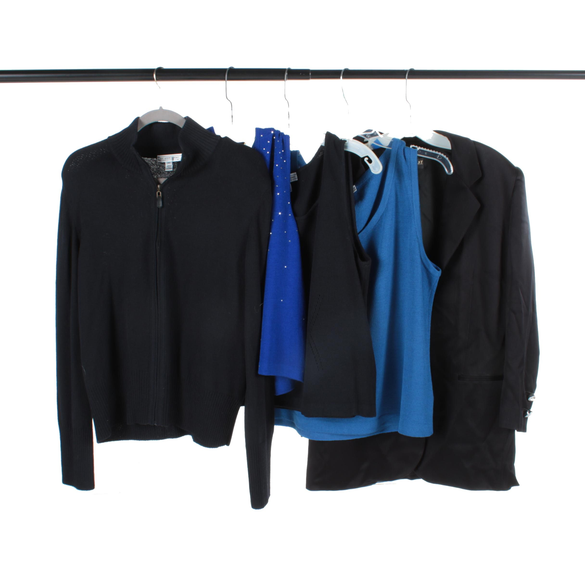 St. John Brand Tops and Jackets