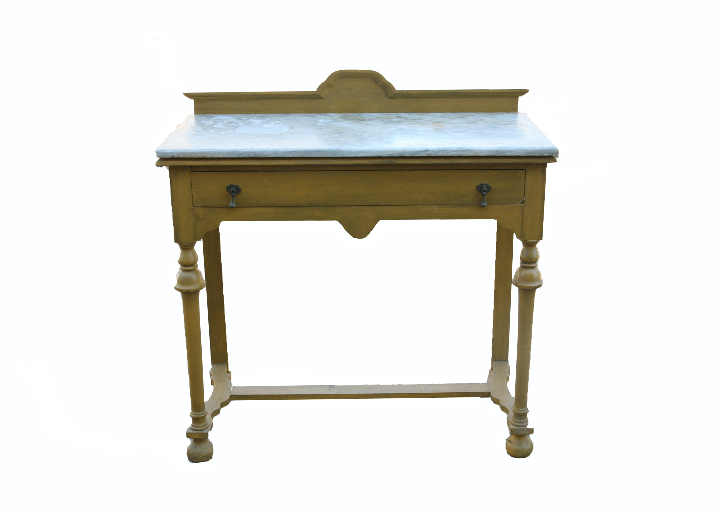 Vintage William and Mary Style Console Table