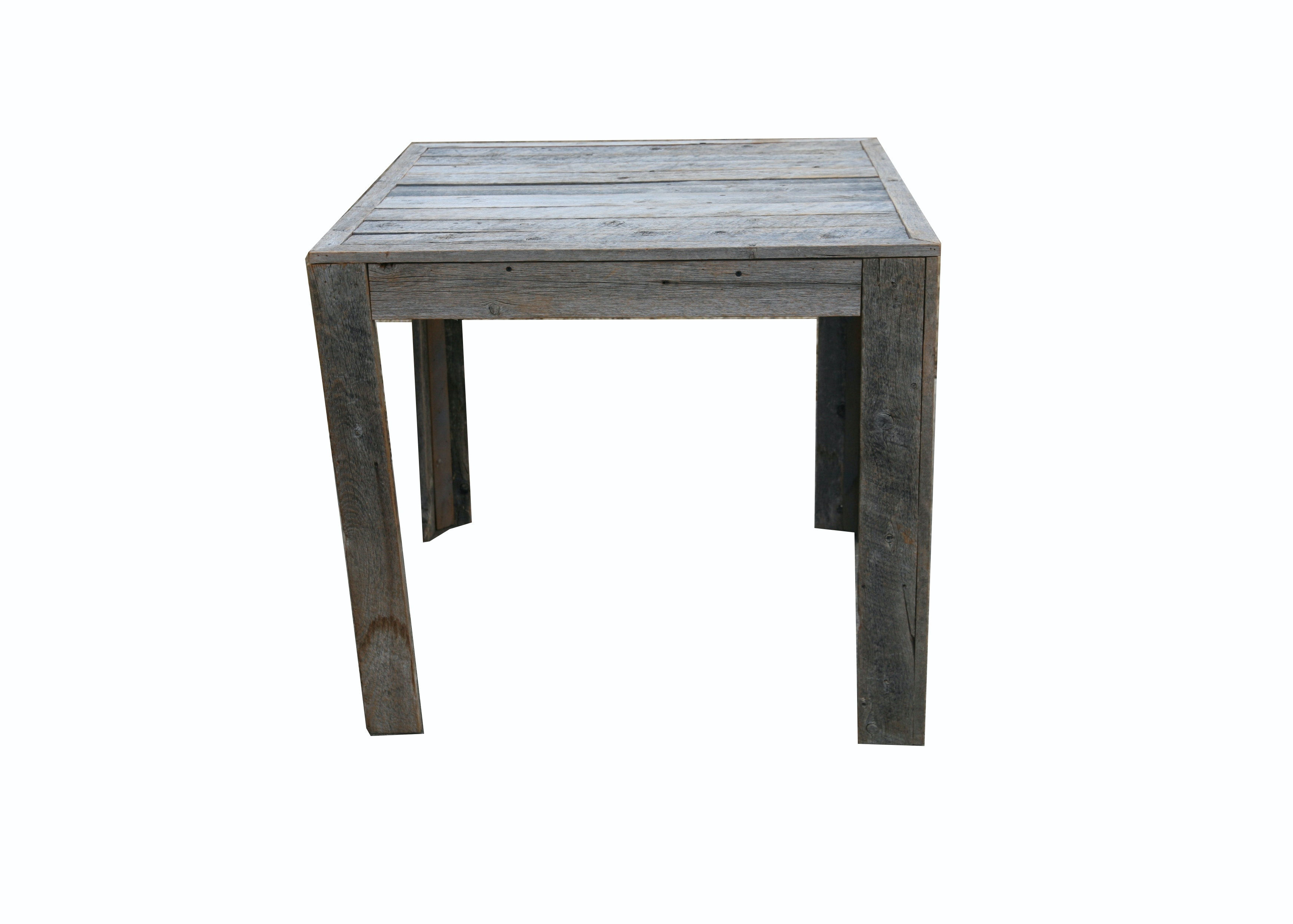 Weathered Oak Accent Table