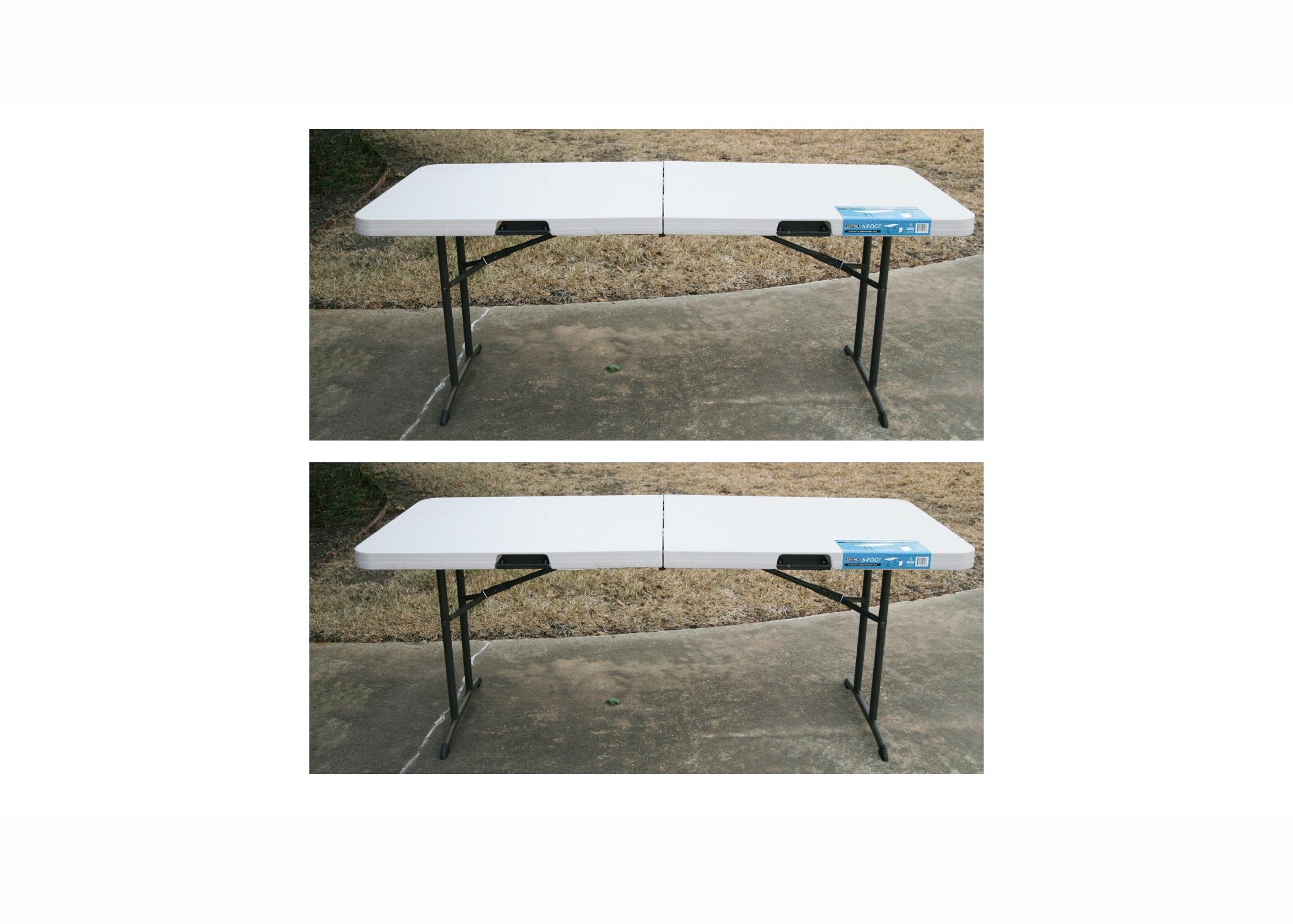 Lifetime Commercial Folding Tables