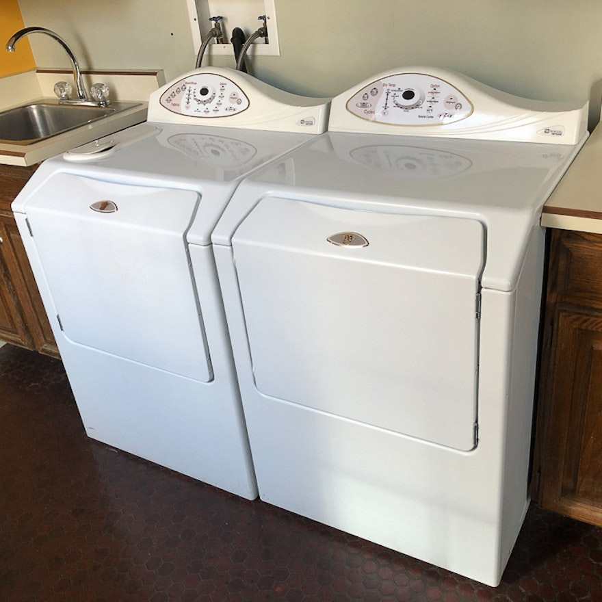 """Maytag """"Neptune"""" Washer And Dryer"""