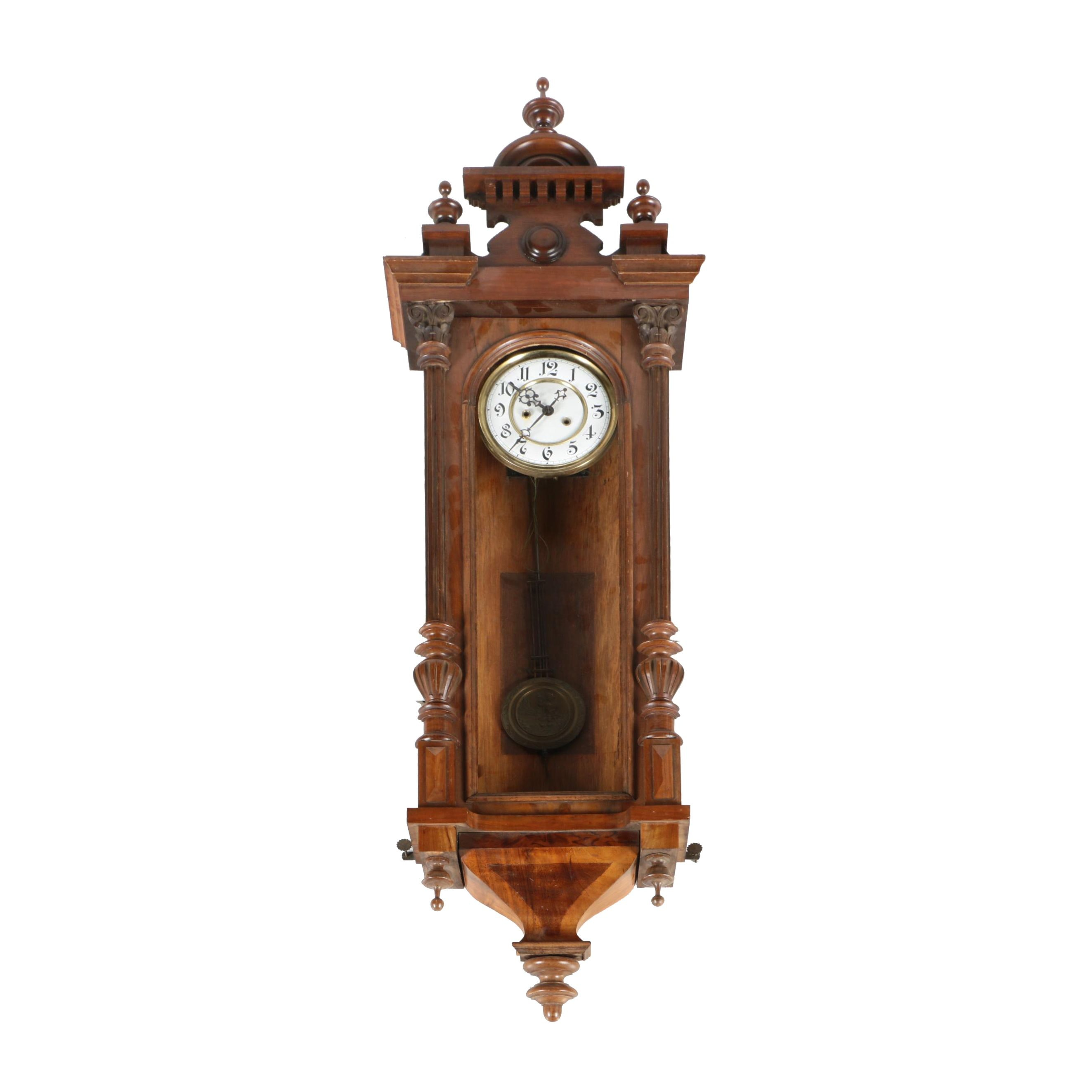 Gothic Style Viennese Regulator Clock