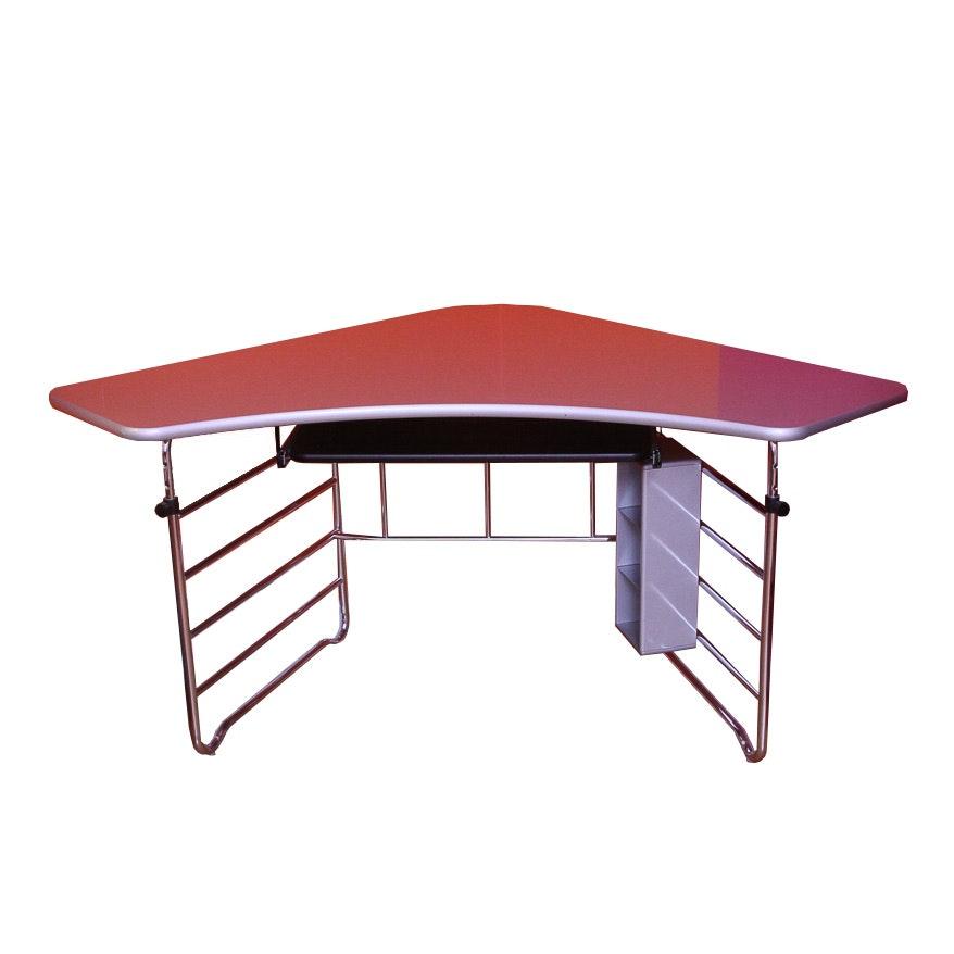 Modern Metal Corner Desk