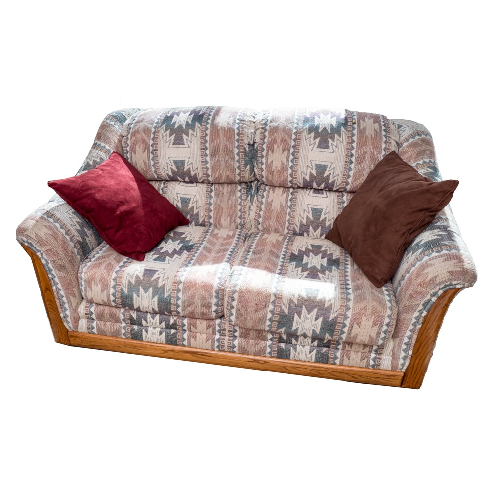 Southwest Inspired Loveseat by Yellowstone