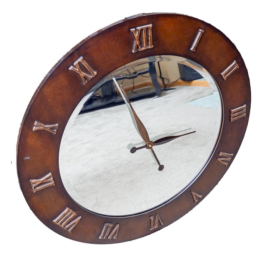 Mirror Wall Clock