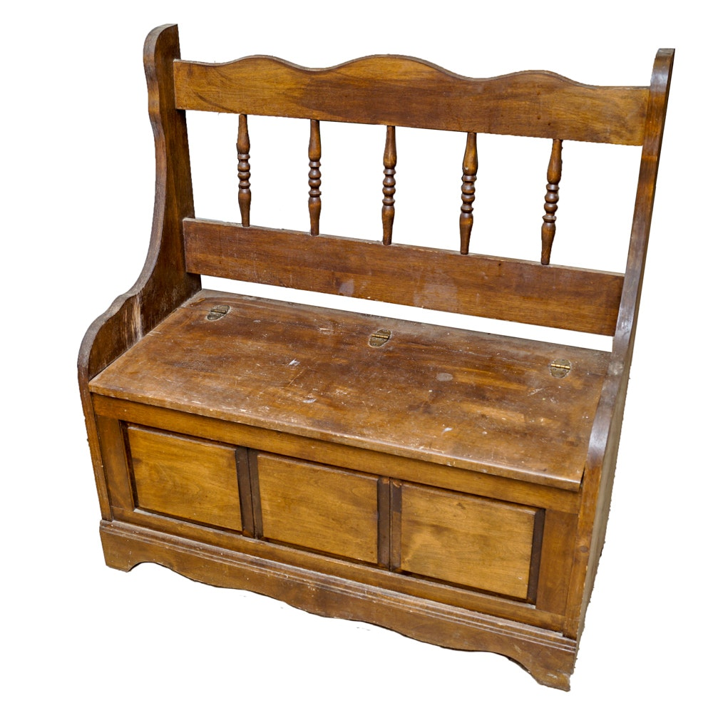 Vintage Hall Bench