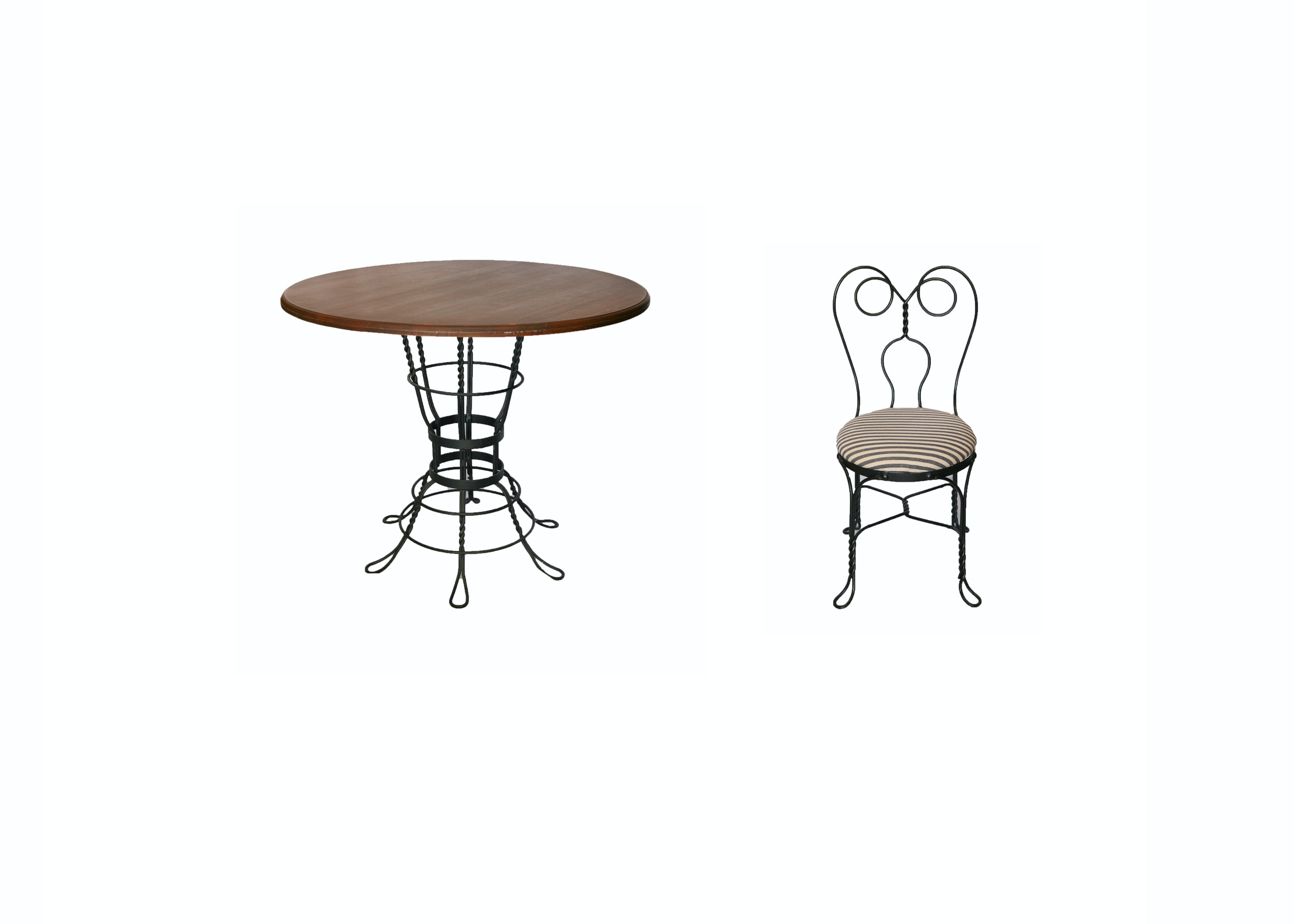 Bistro Table with Side Chair