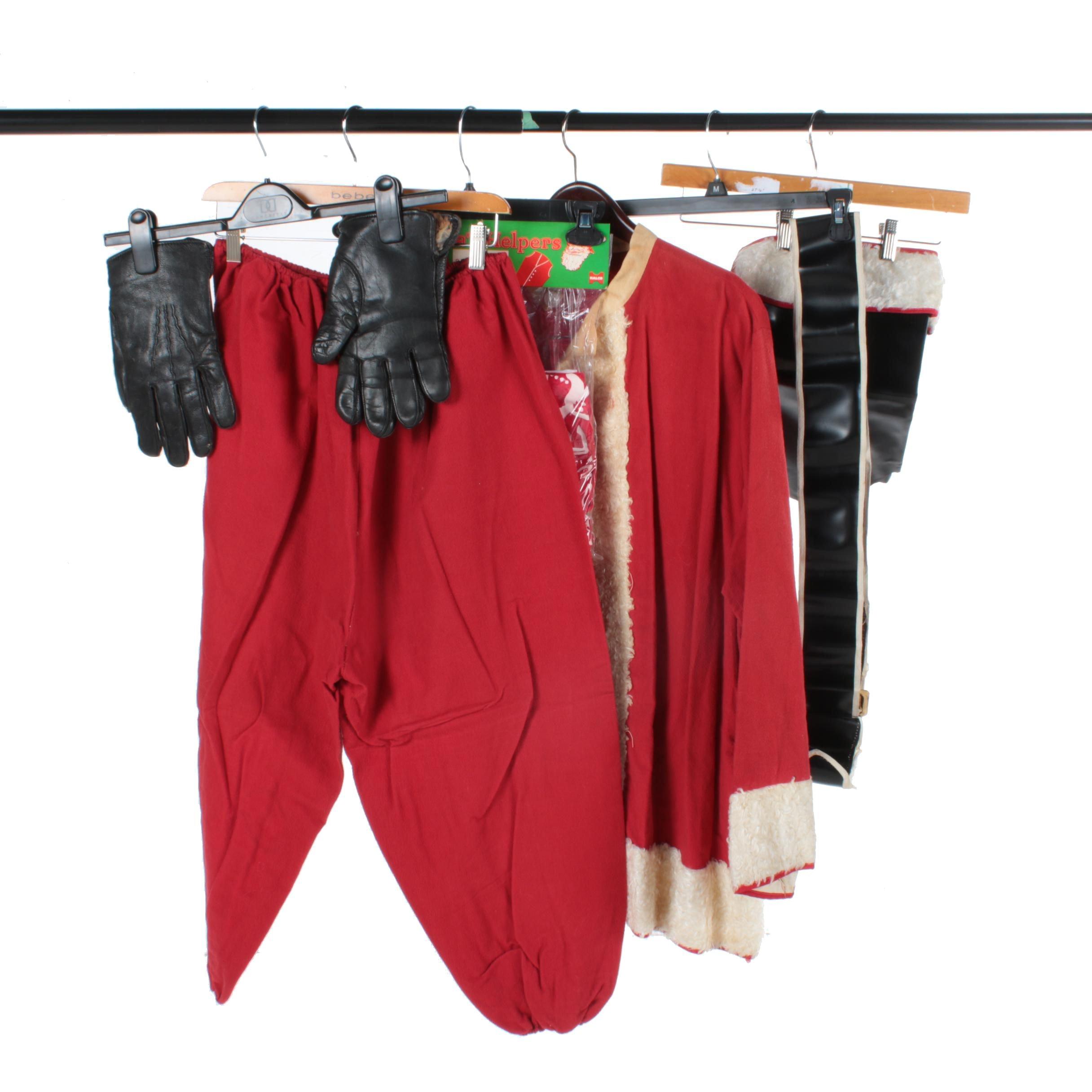 Vintage Santa Suit