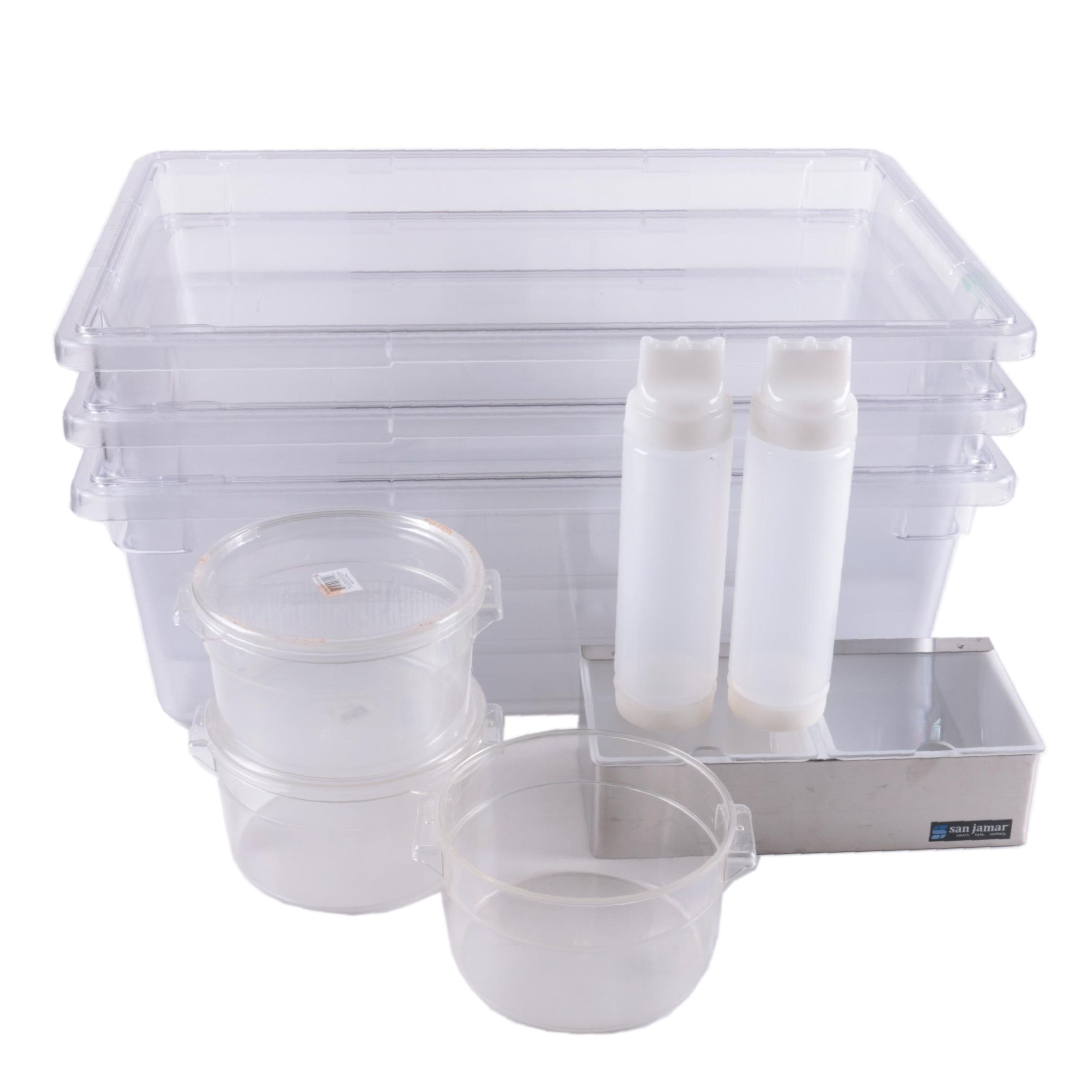 Commercial Plastic Food Storage Containers ...