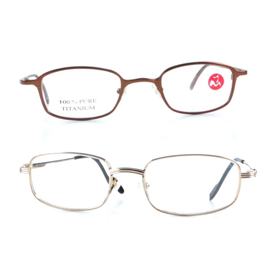 Cartier and Yoshi Mikasada Prescription Eyeglasses : EBTH