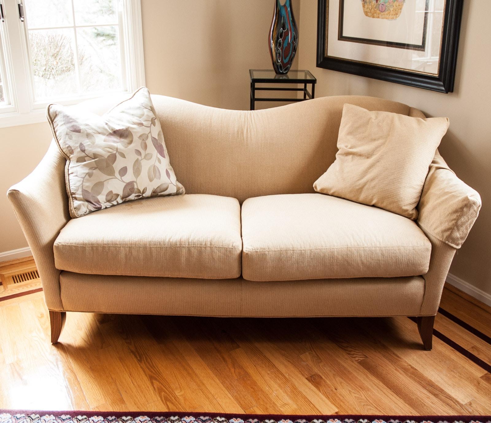 Settee by Vanguard Furniture