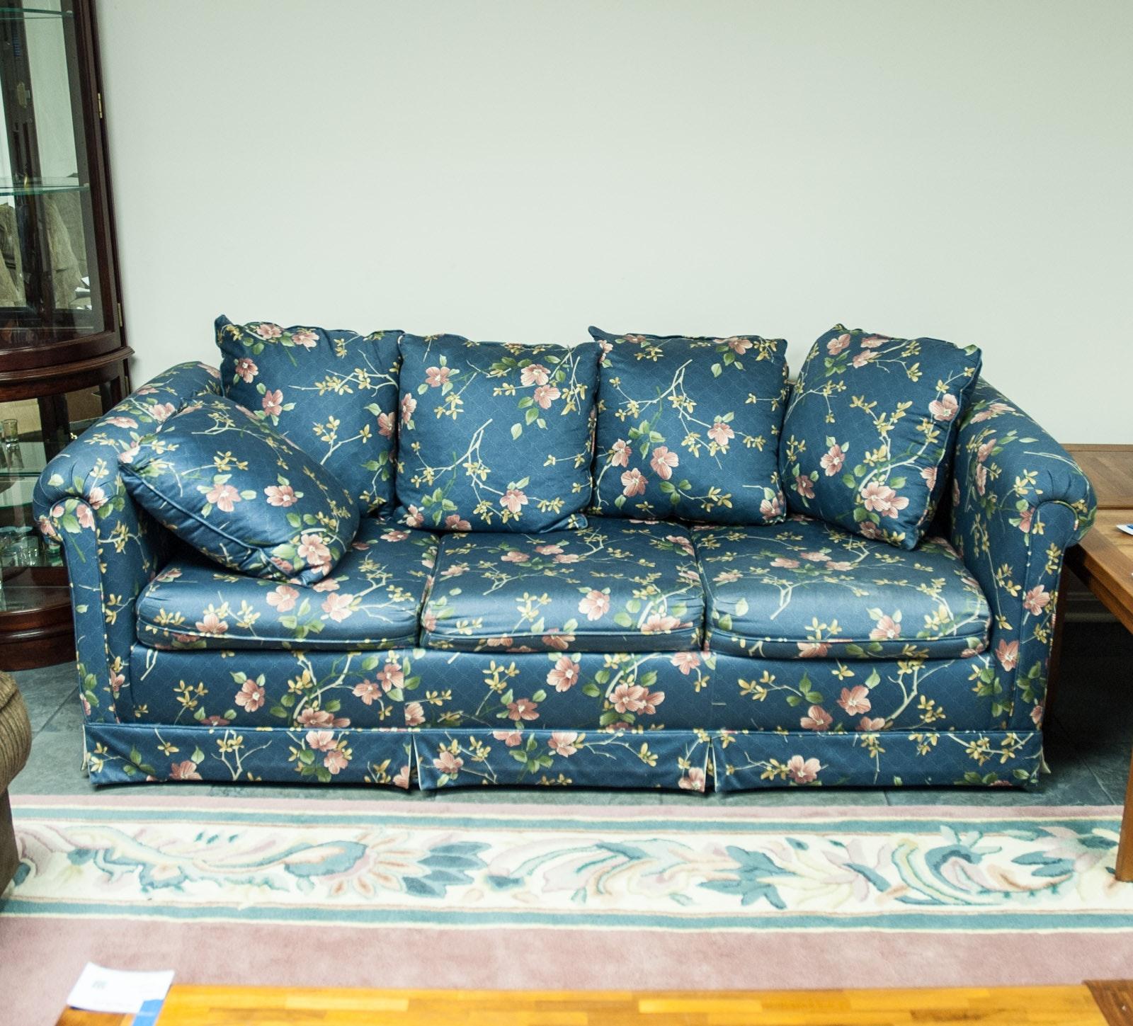 Floral Sleeper Sofa