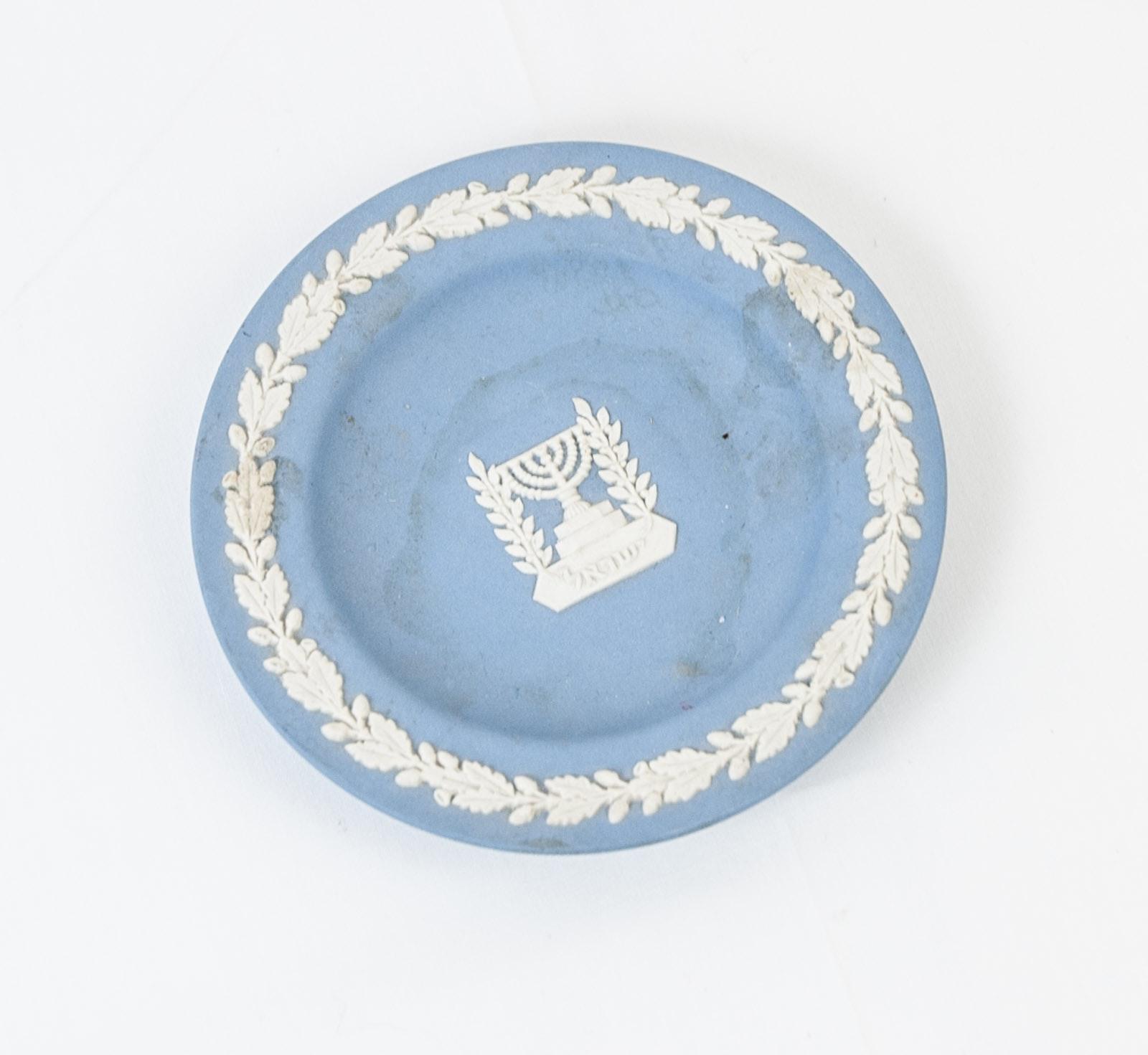 Wedgwood Jasperware Menorah Dish