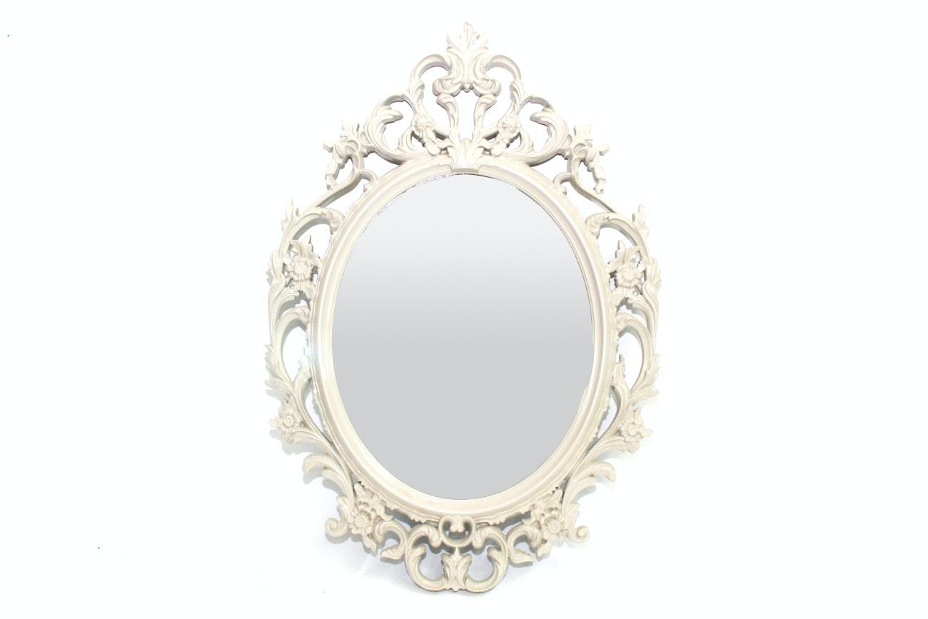 IKEA Ornate Oval Wall Mirror
