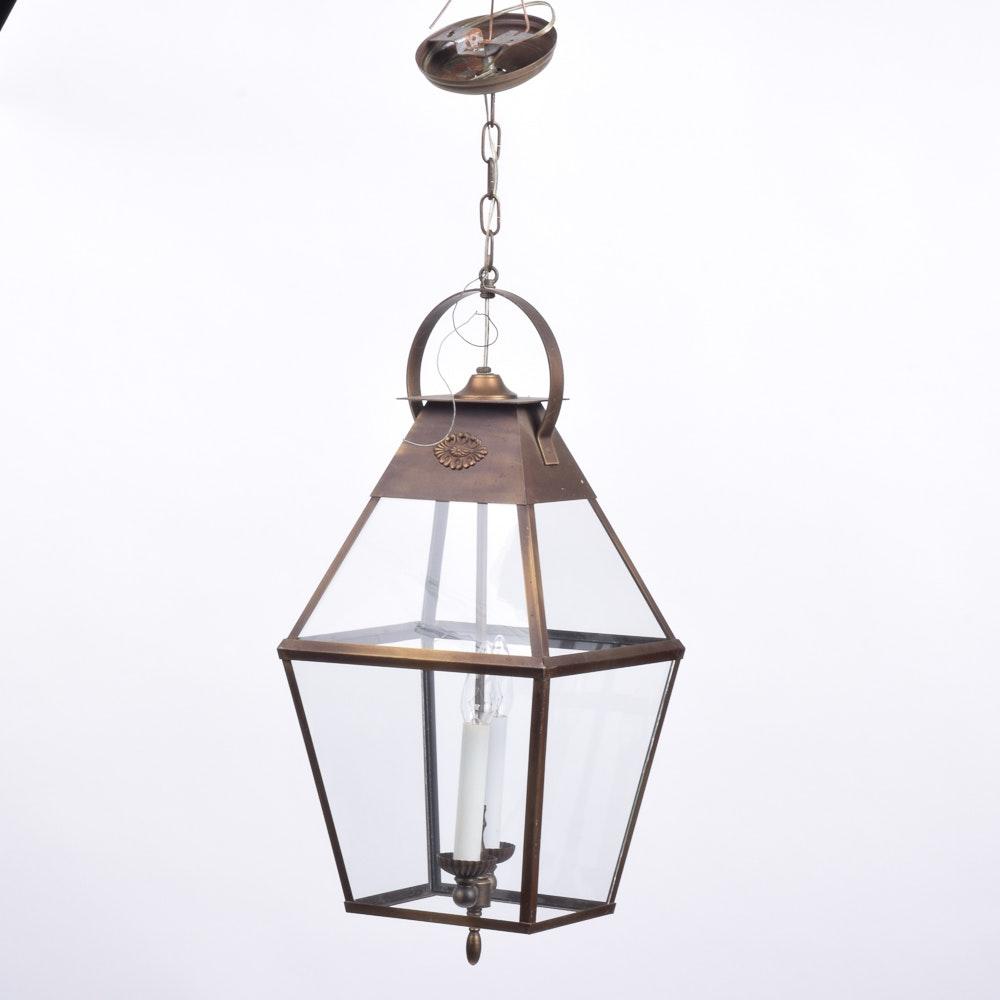 Metal Lantern Pendant Fixture