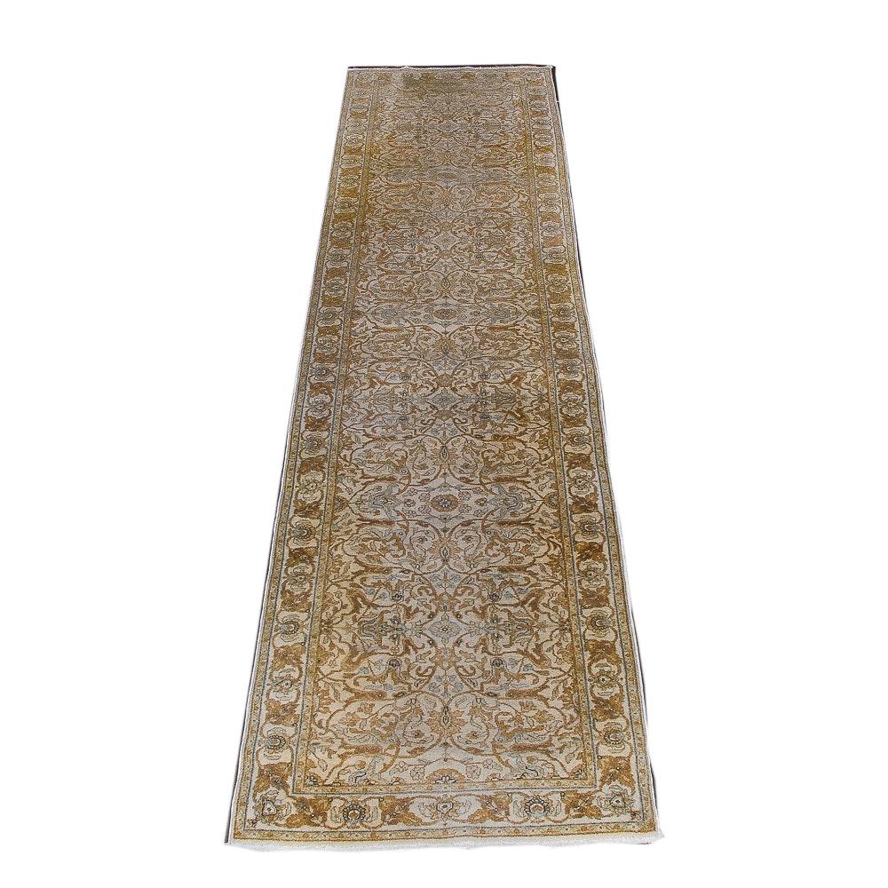 """Hand-Knotted Safavieh """"Herati"""" Carpet Runner"""