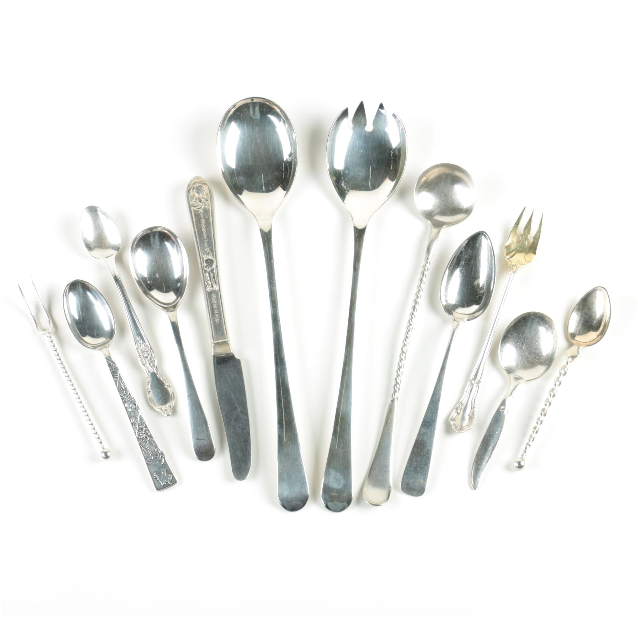 """Gorham """"Sheffield"""" and Other Silver-Plated Flatware"""