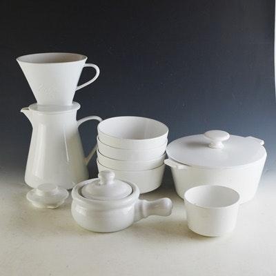 White Porcelain Serveware Collection