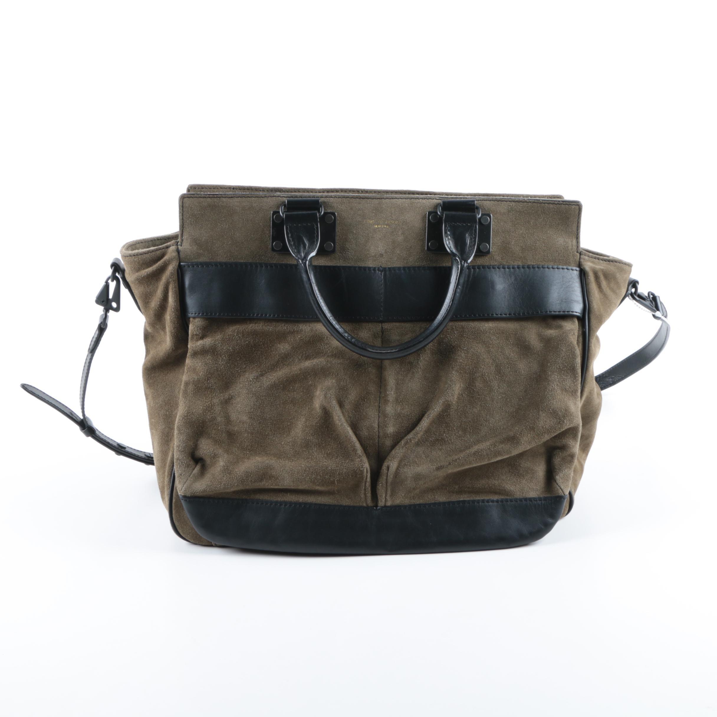Rag & Bone Leather and Suede Handbag