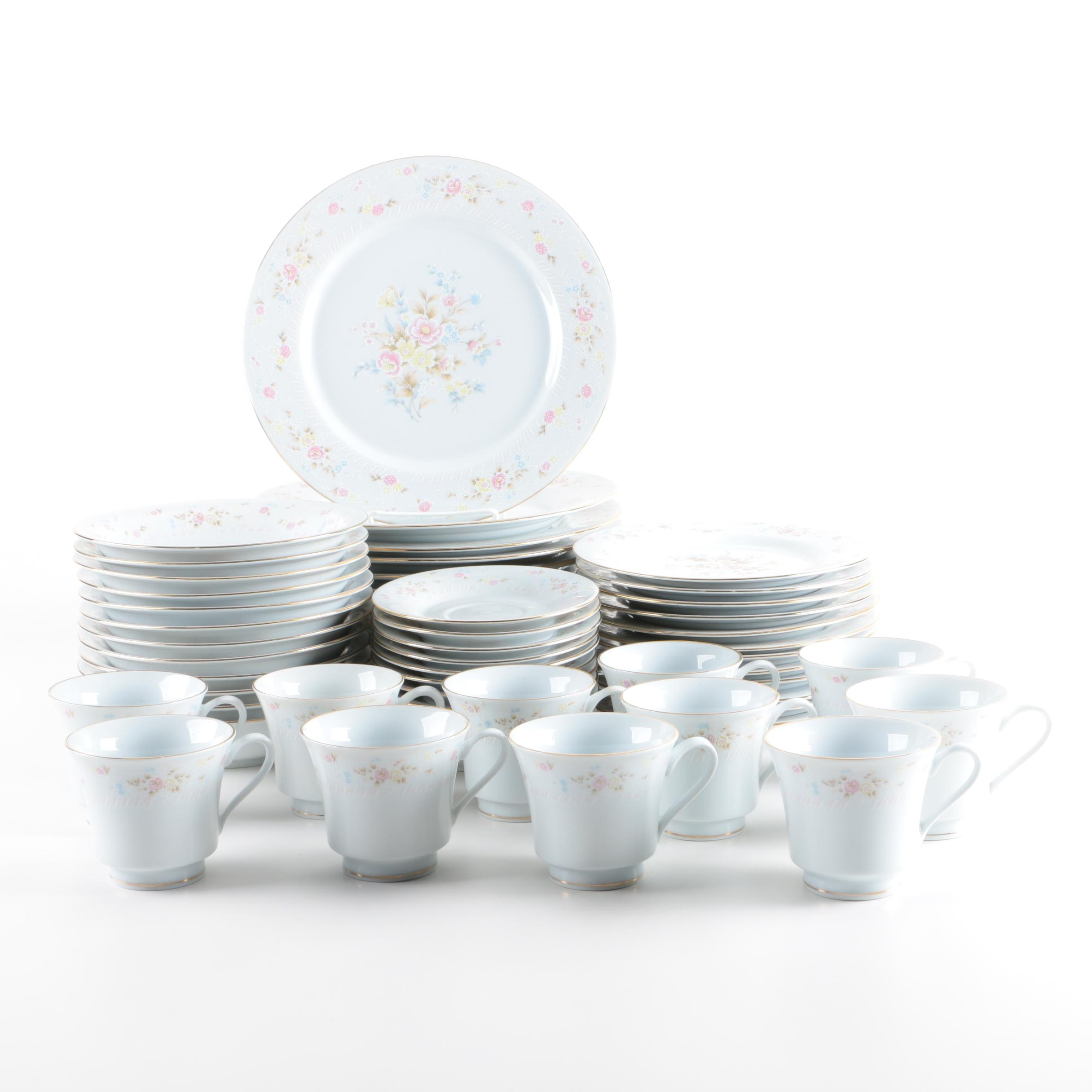 Jamestown China Floral Porcelain Tableware