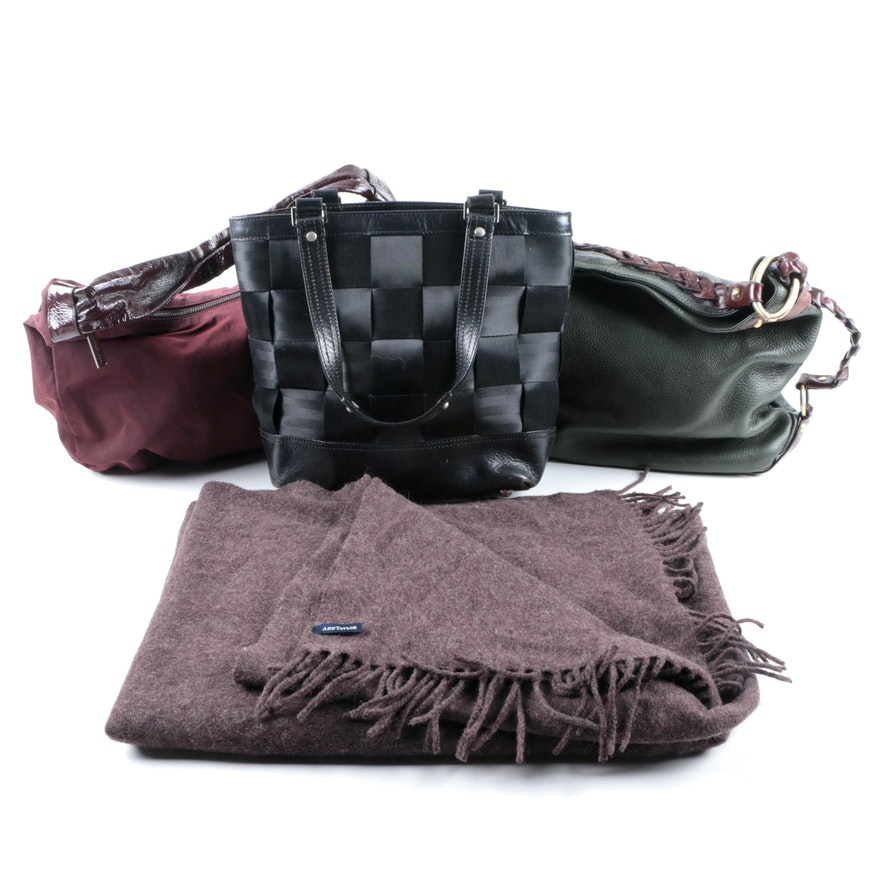 Handbag Variety and Ann Taylor Wrap Scarf   EBTH f6abc37d1d