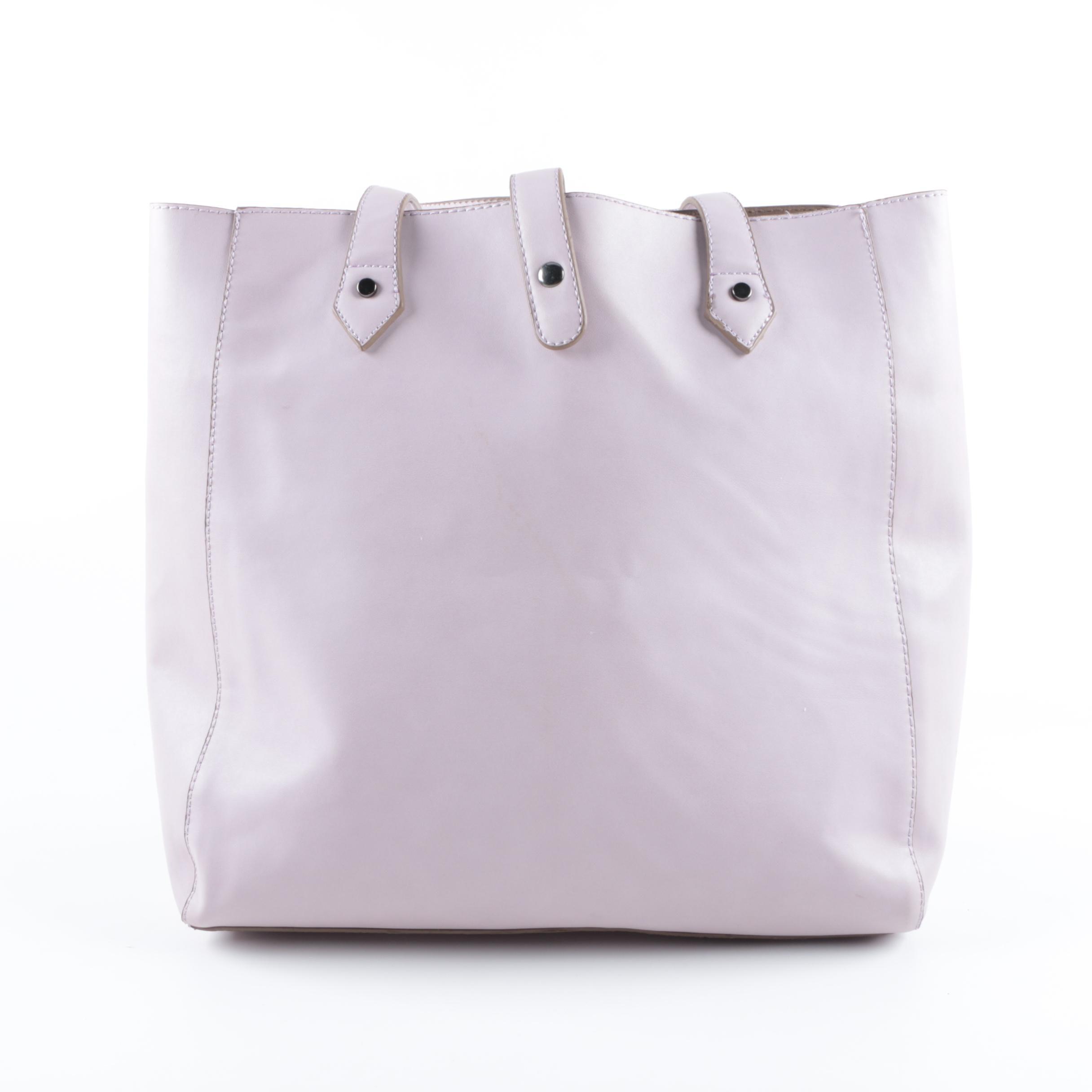 David Jones Faux Leather Tote Bag