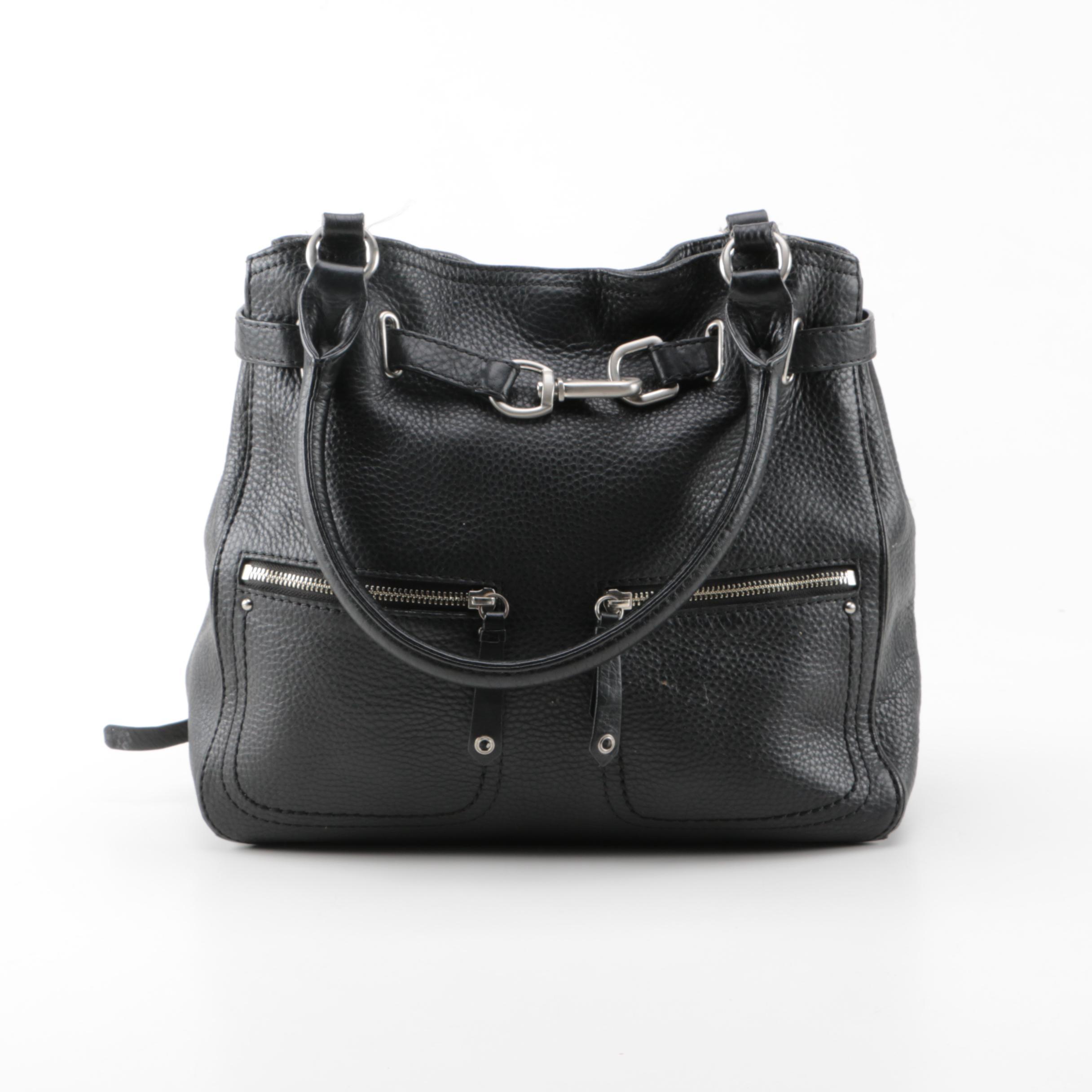 Cole Haan Grained Leather Handbag