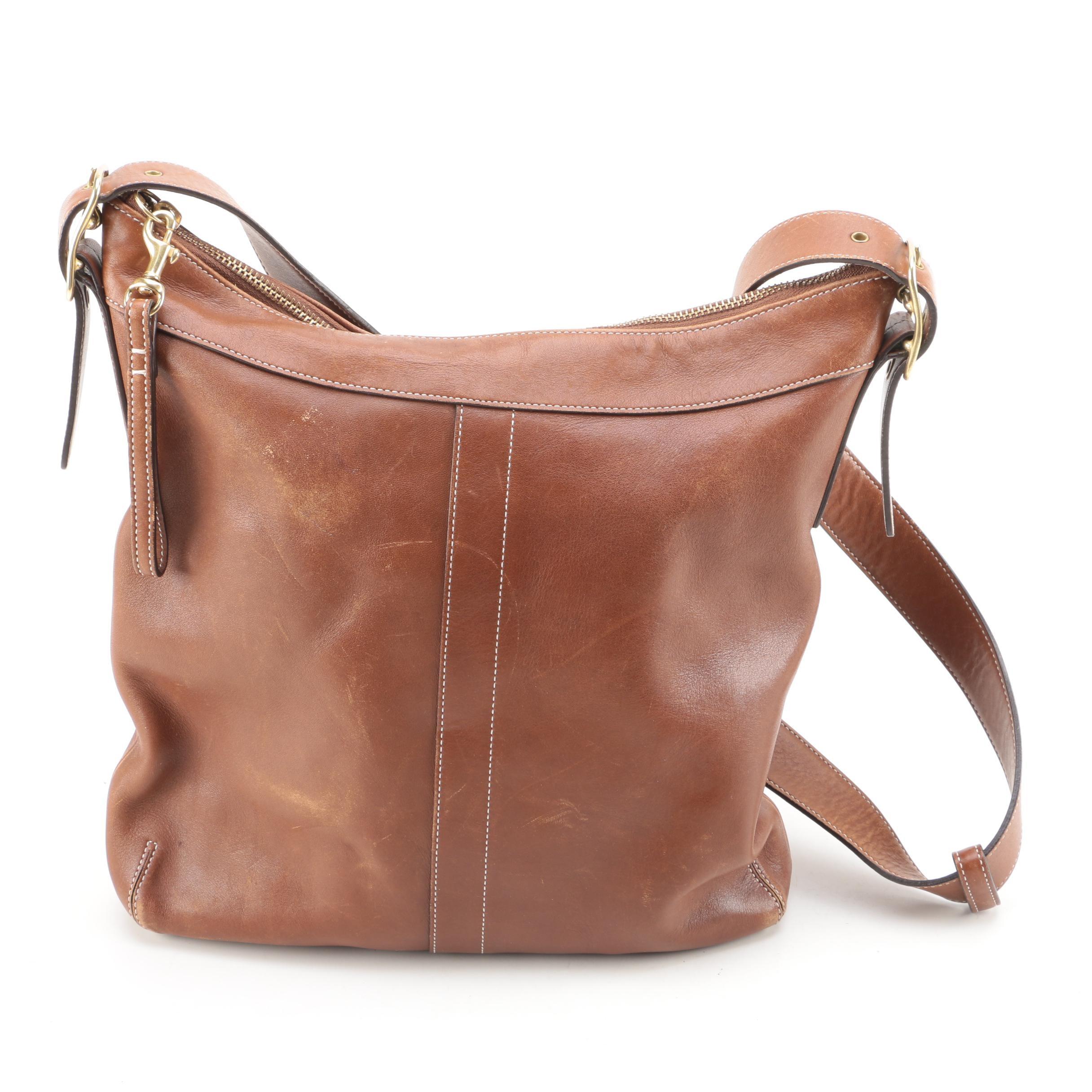 Coach Soho Brown Leather Shoulder Bag