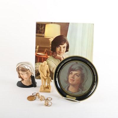 1964 Inarco Jackie Kennedy Vase and Widowhood Years Memorabilia, 1963-1968