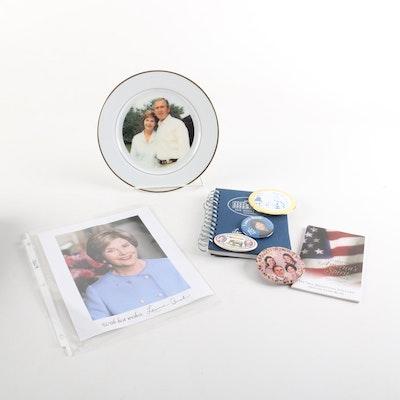 George W. and Laura Bush Memorabilia