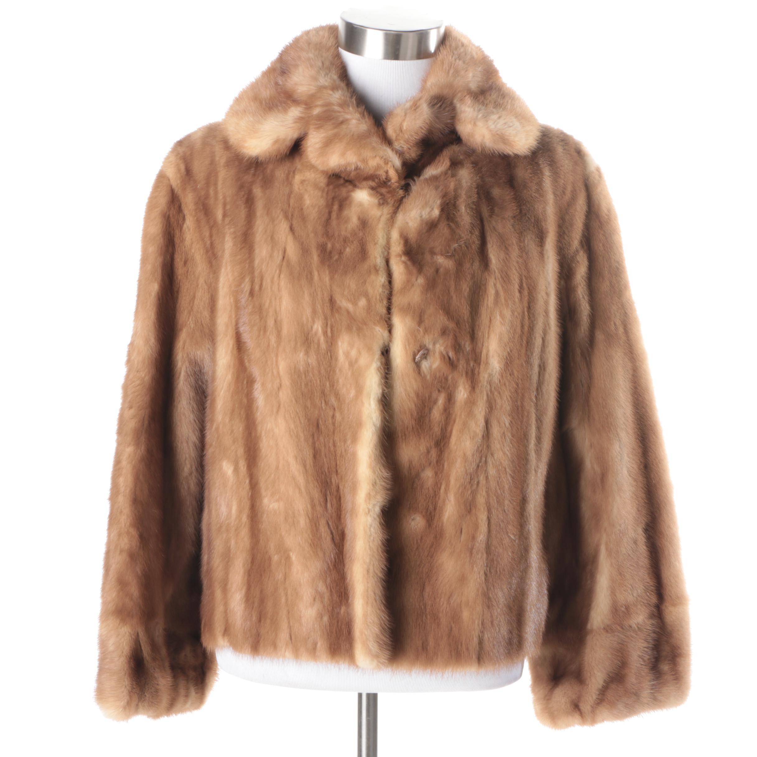 Women's Mink Fur Jacket