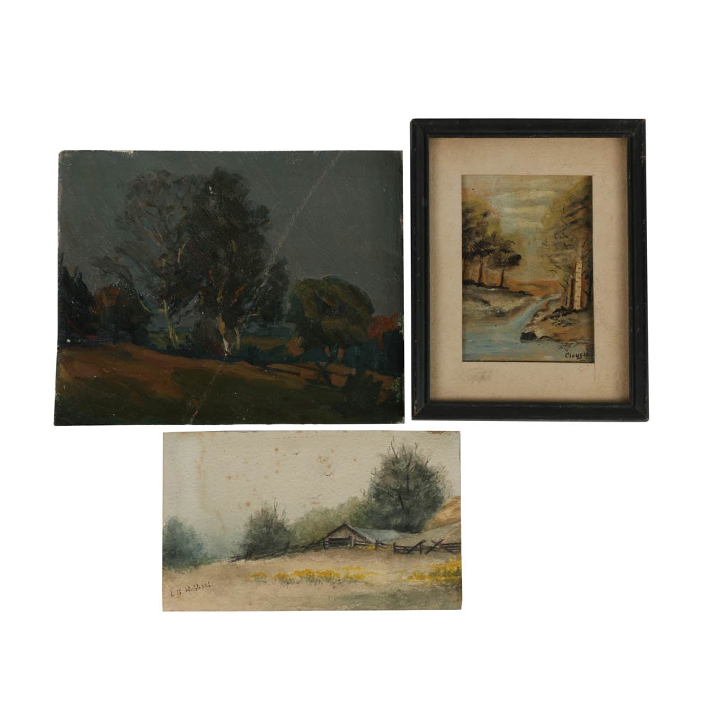 Collection of Rural Landscape Paintings