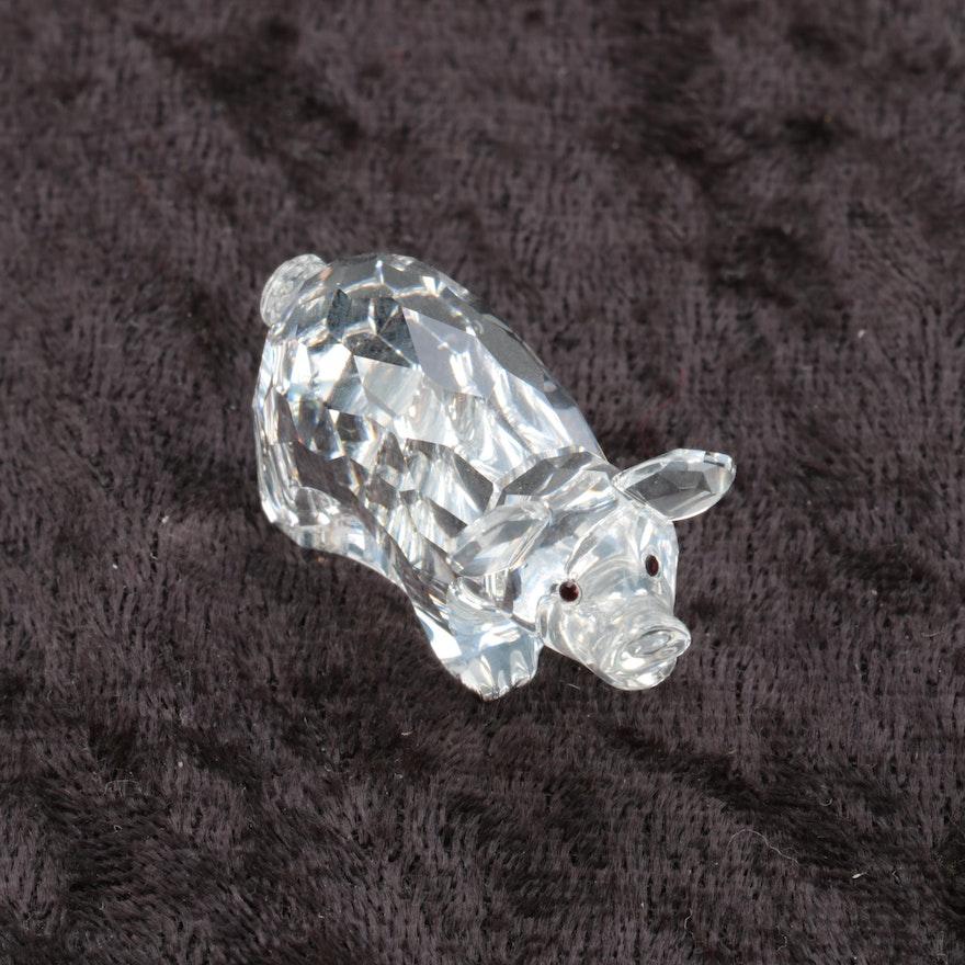 7cfa9d8d6 Swarovski Crystal Pig Figurine : EBTH