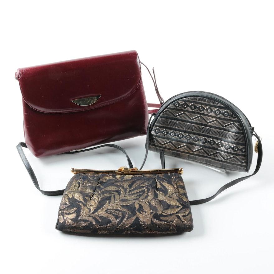 Handbags Including Bruno Magli And Elizabeth Arden