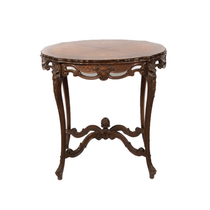 Louis xv style side table ebth - Table de chevet louis xv ...