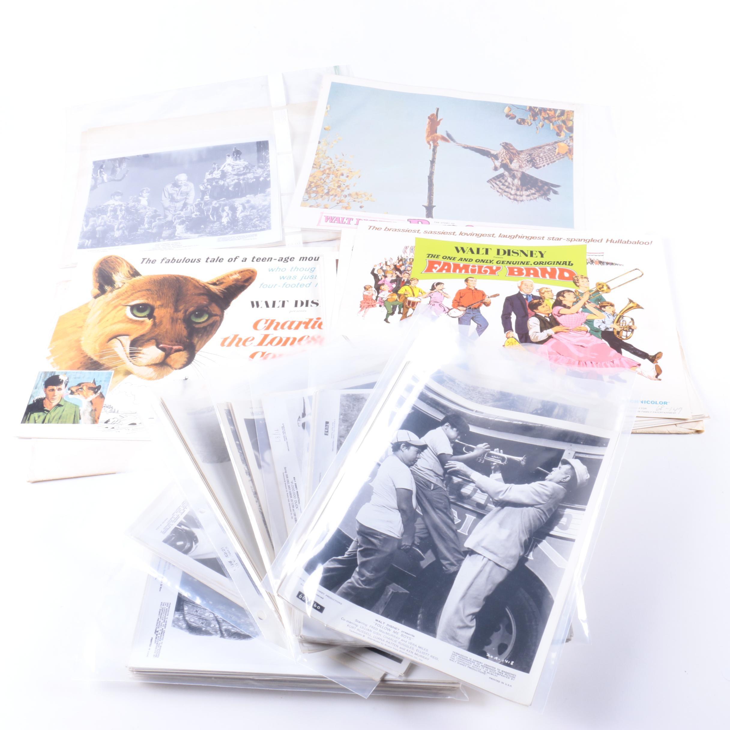 1960s Walt Disney Live-Action Film Lobby Cards