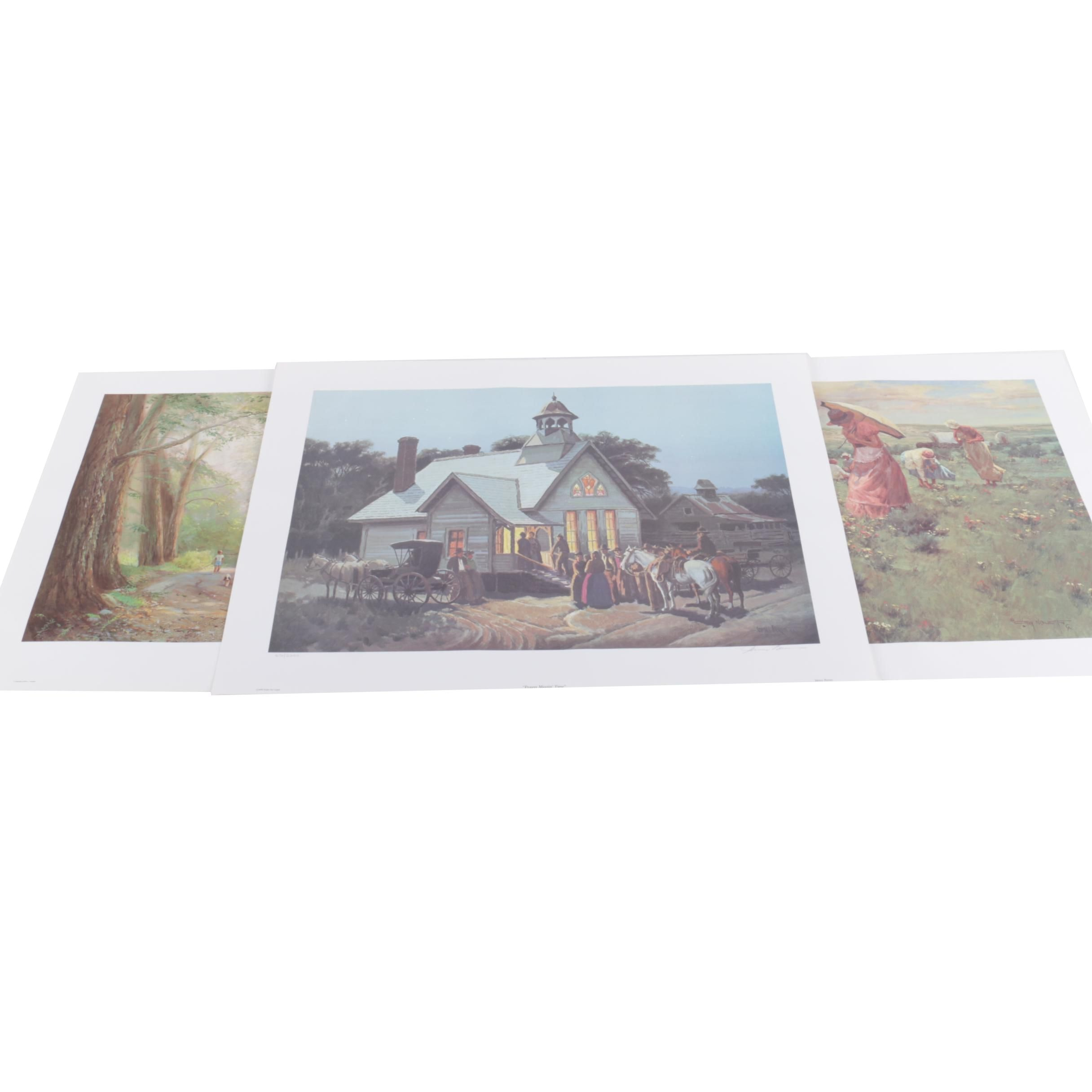 Collection of Limited Edition Reproduction Prints on Paper
