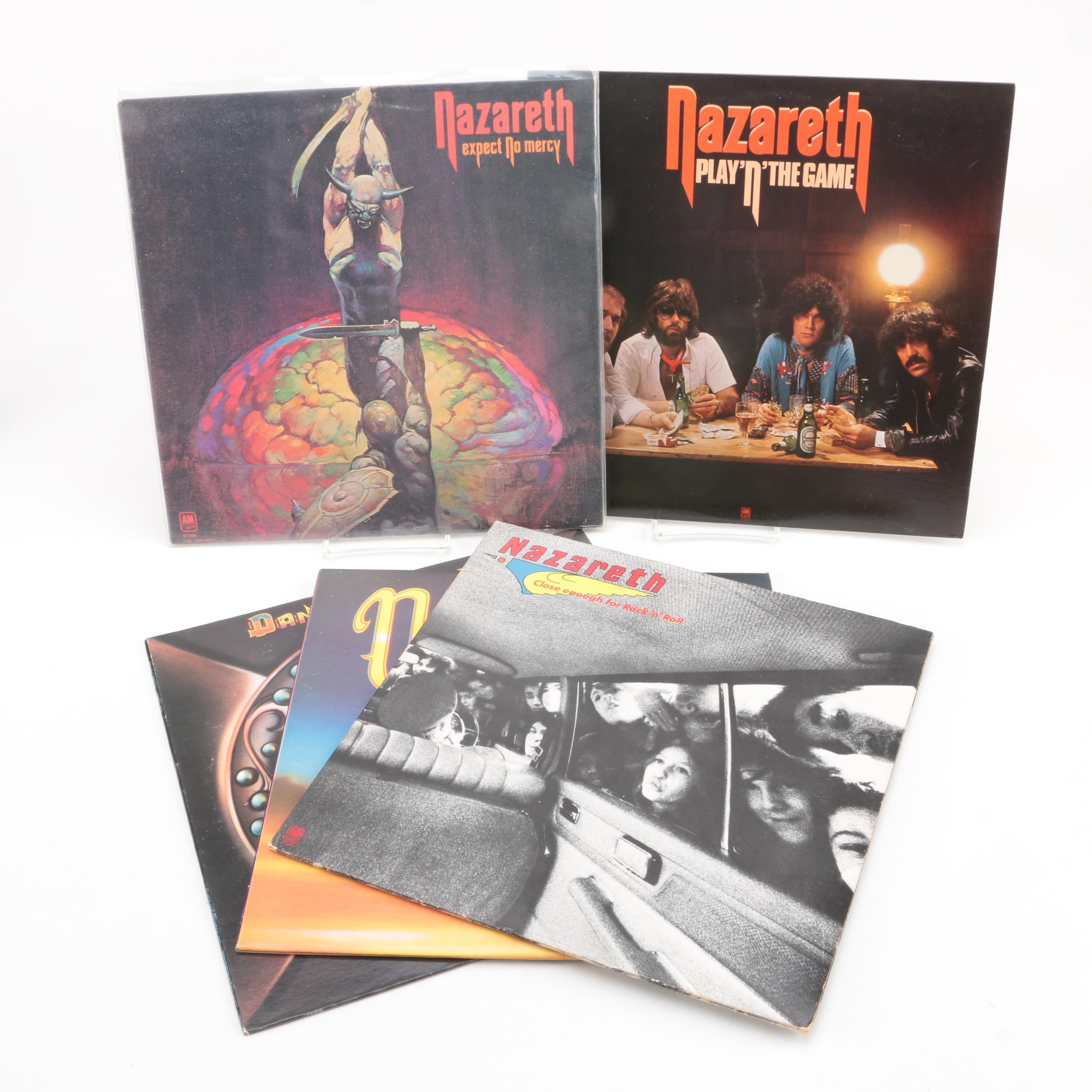 "Nazareth and Dan McCafferty Records Including ""Expect No Mercy"""