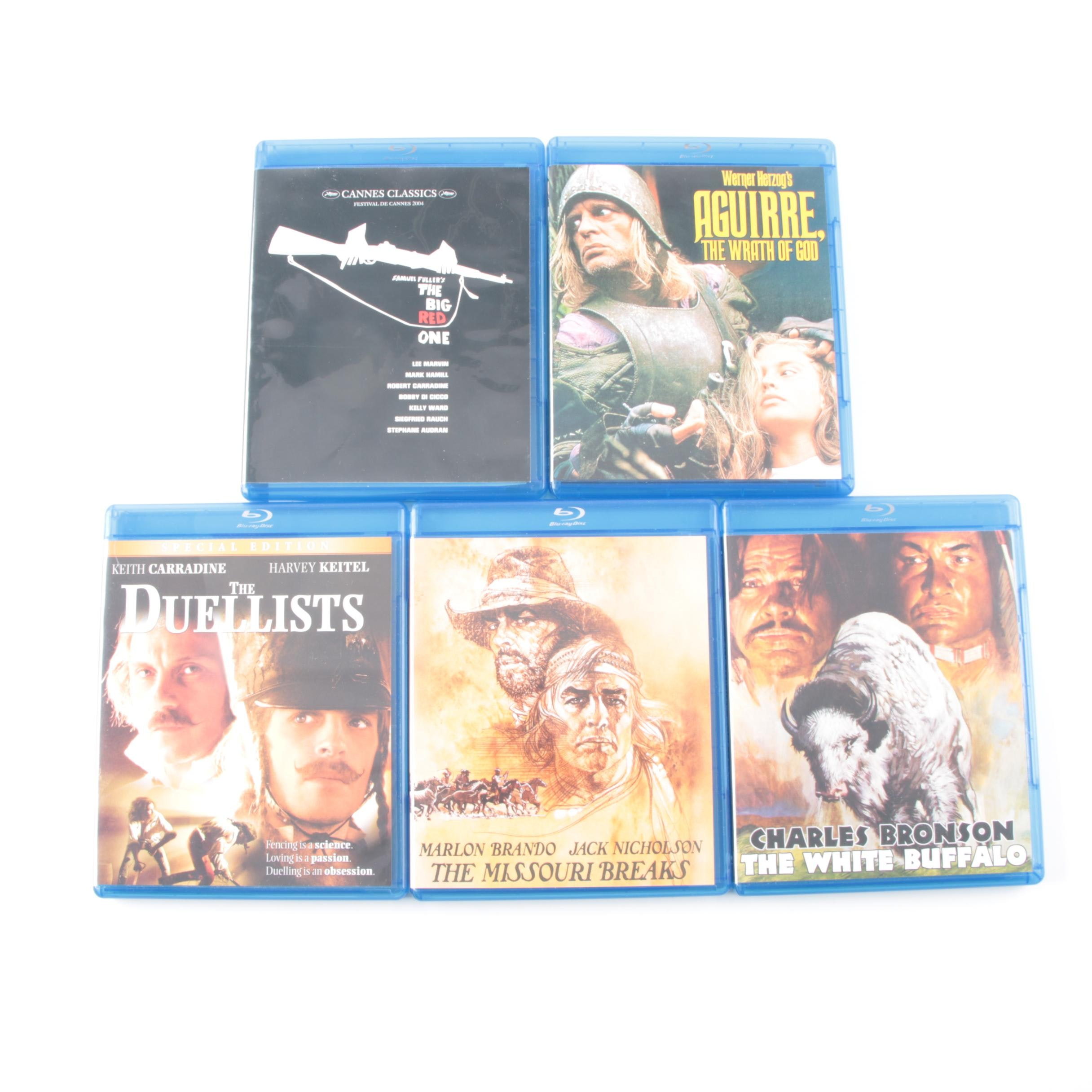 """Blu-ray Discs Including """"The Big Red One"""" and """"The Duellists"""""""