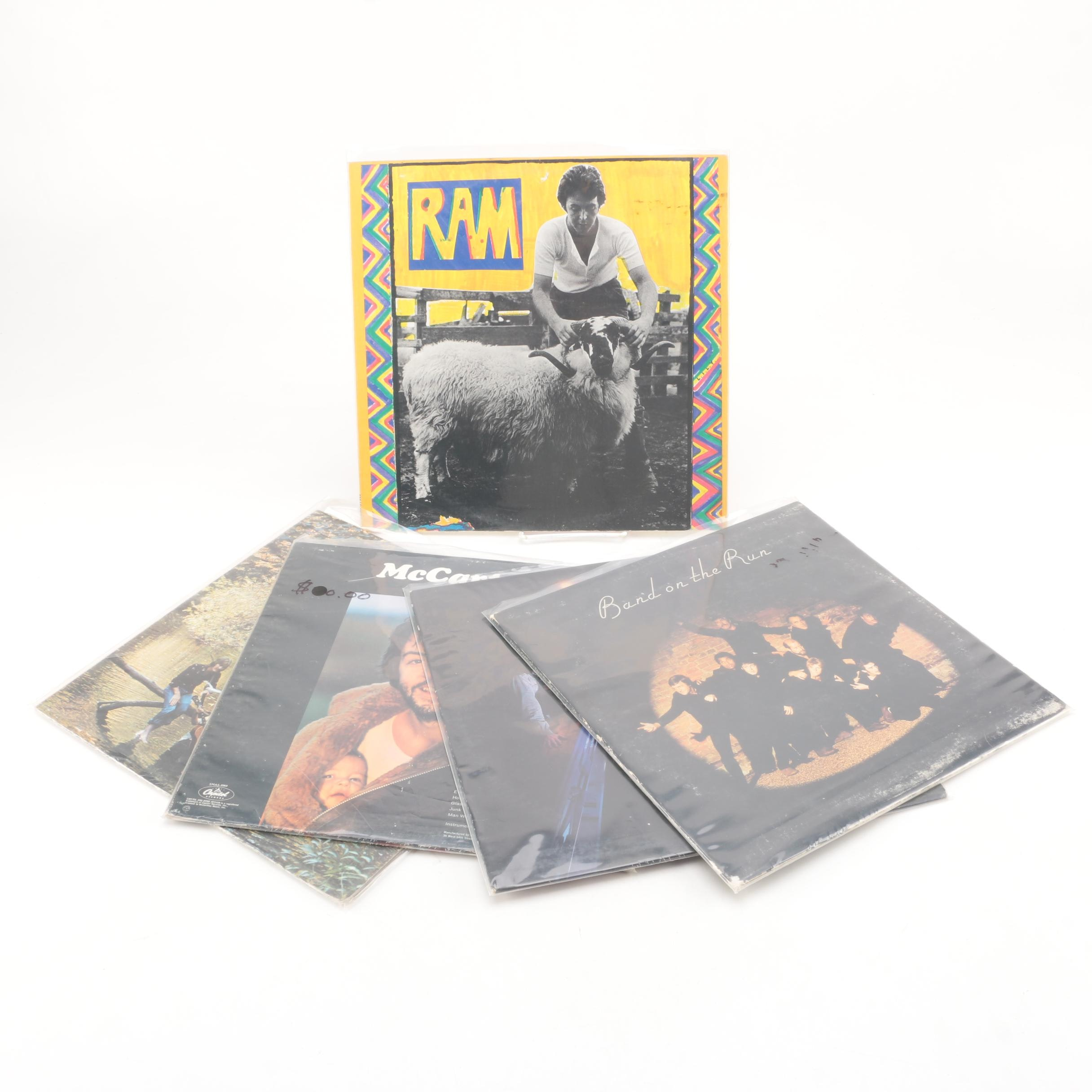 "Paul McCartney and Wings Records Including ""Band On The Run"" and ""Ram"""