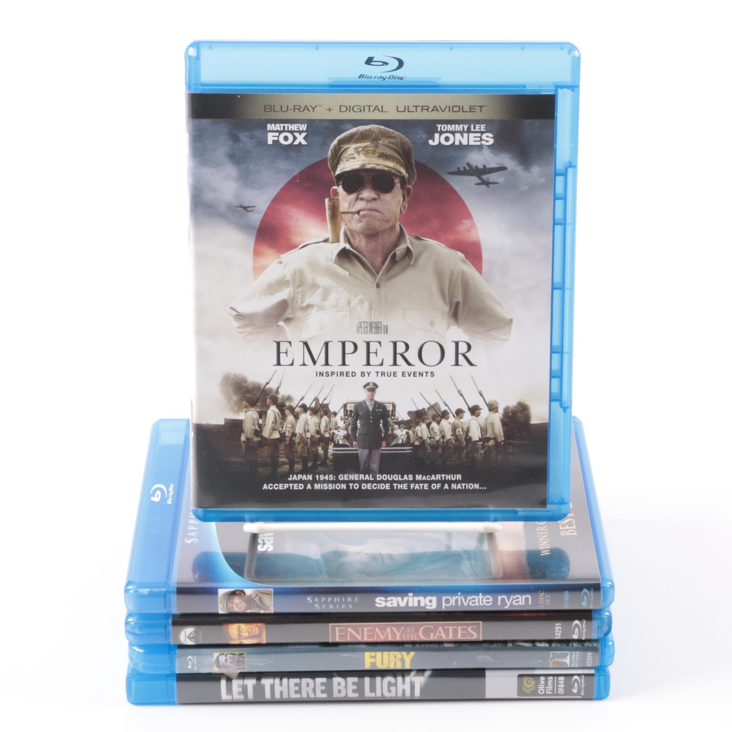 """WWII Films on Blu-ray Including """"Fury"""" and """"Saving Private Ryan"""""""