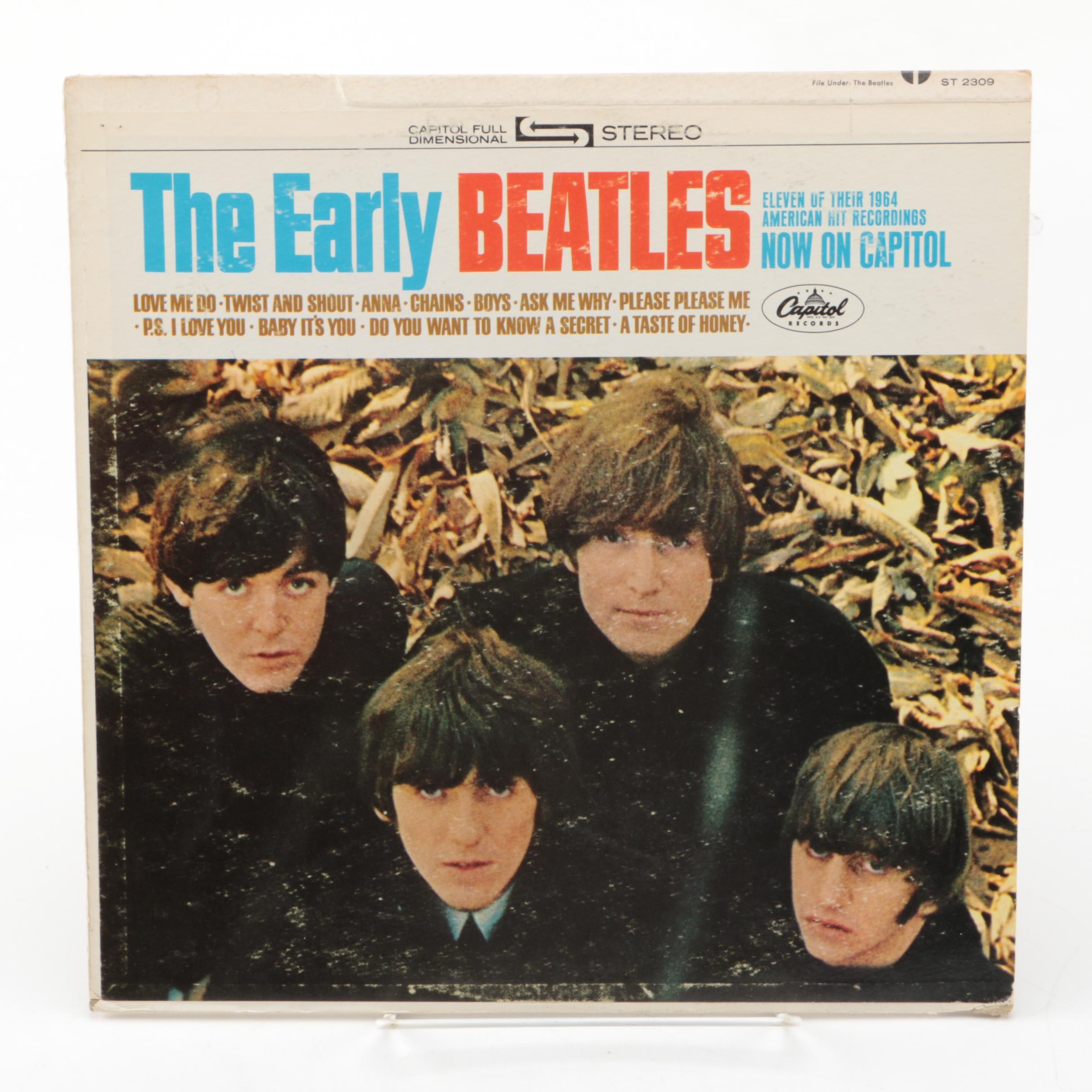"""The Early Beatles"" Apple Records Reissue Stereo Record"