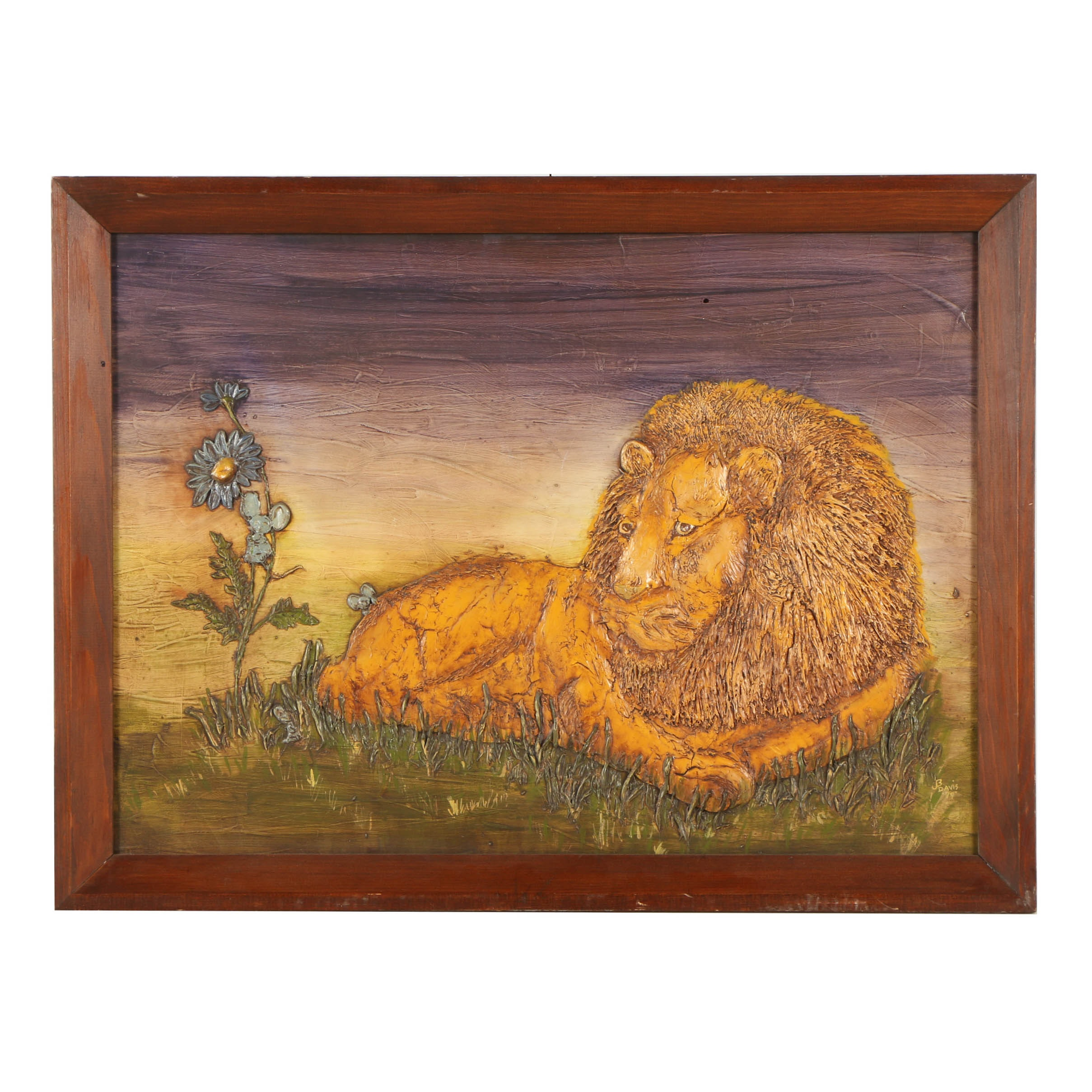 J. B. Davis Oil Painting